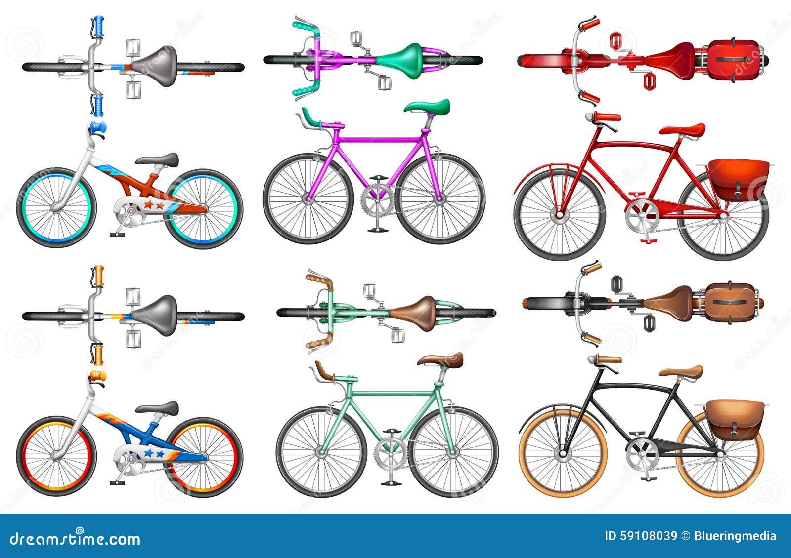 另外种类自行车