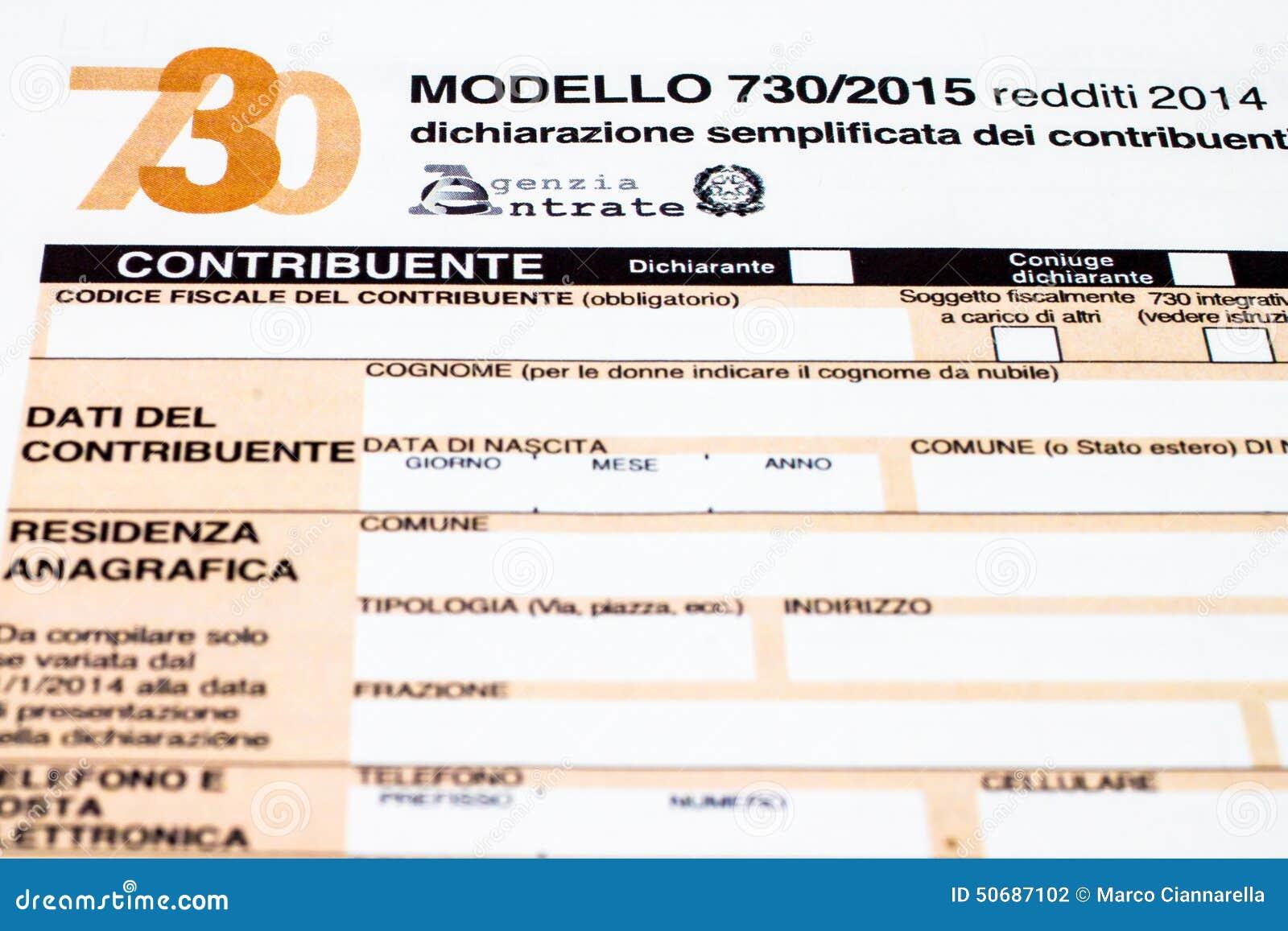 Download 叫的意大利纳税申报730 库存照片. 图片 包括有 回归, 计算, 纳税人, 文件, 退款, 编号, 截止日期 - 50687102