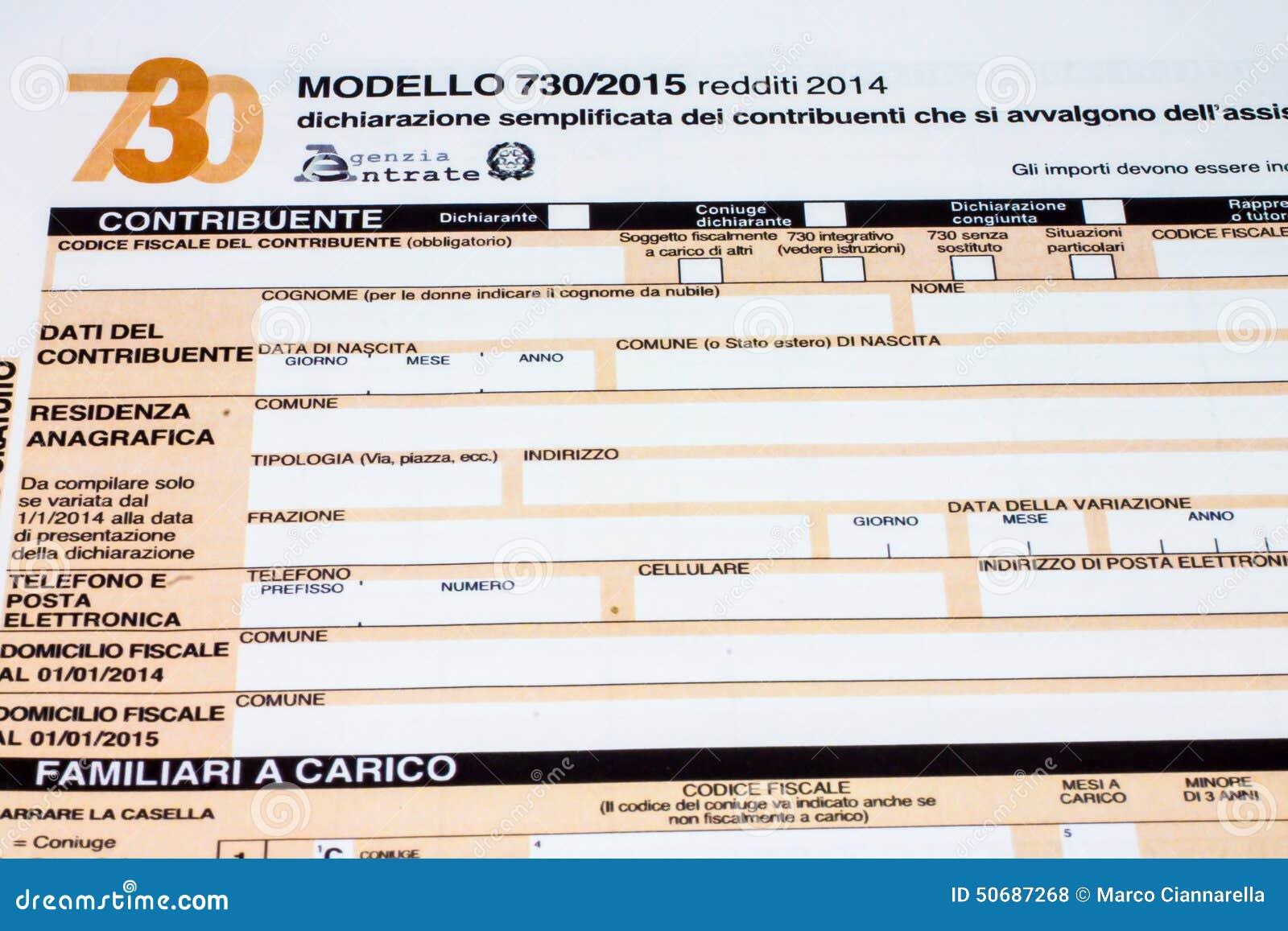 Download 叫的意大利纳税申报730 编辑类库存照片. 图片 包括有 付款, 装载, 货币, 储蓄, 欧洲, 计划, 表单 - 50687268