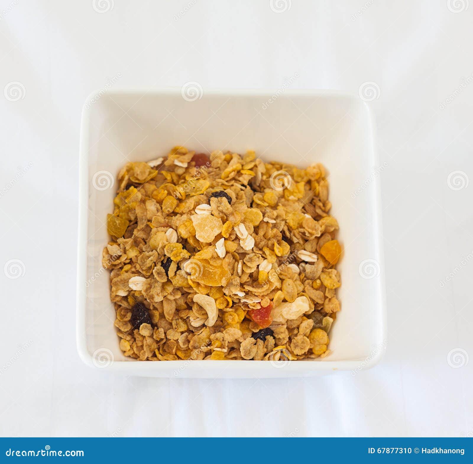 可口和健康整粒muesli