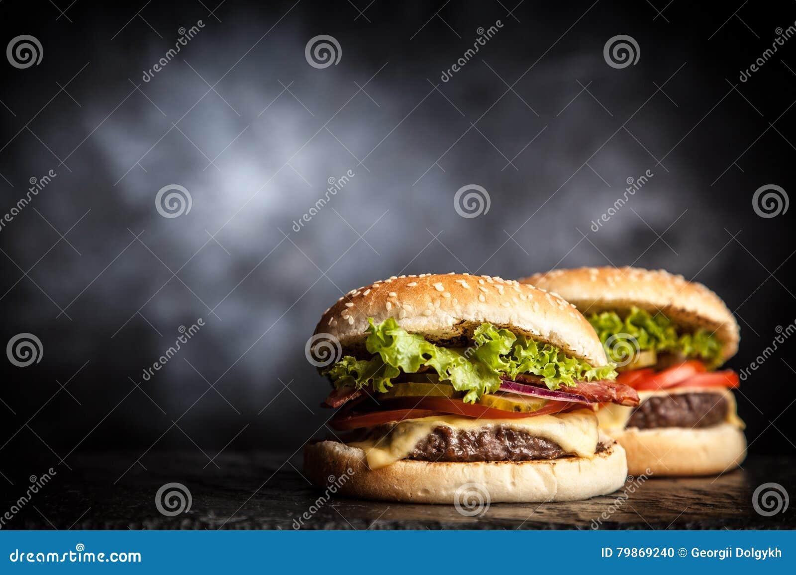 可口烤汉堡