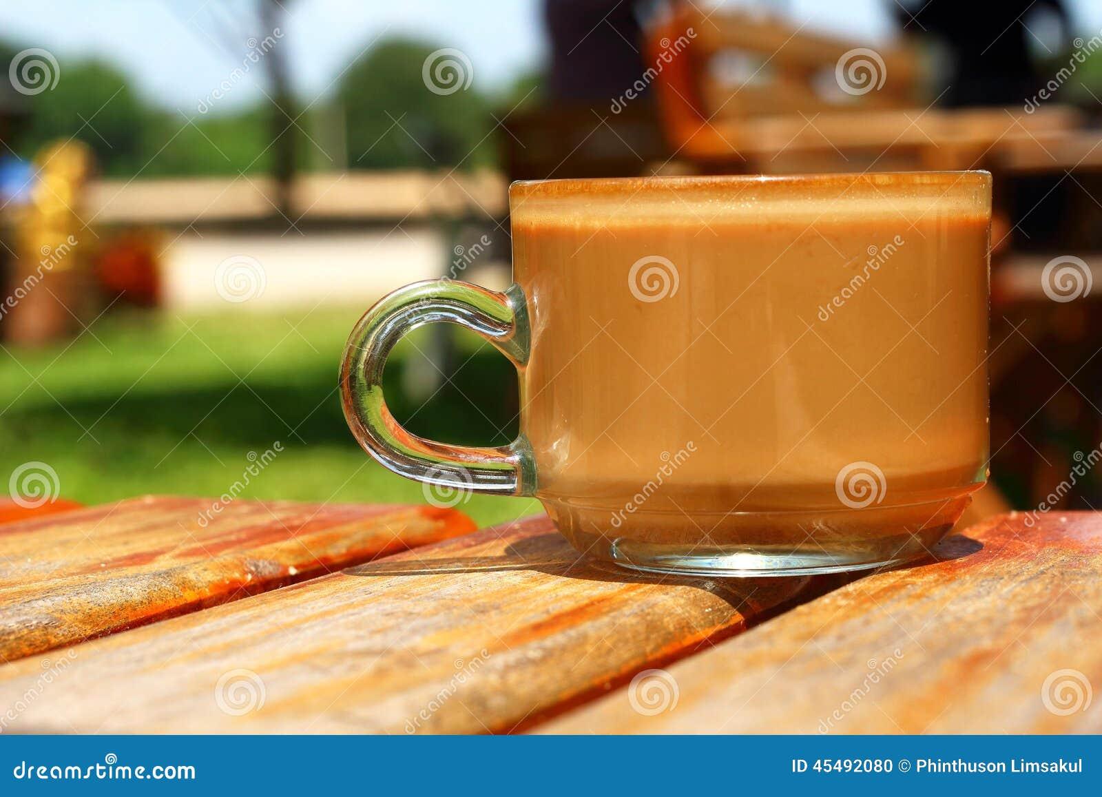可口的咖啡杯