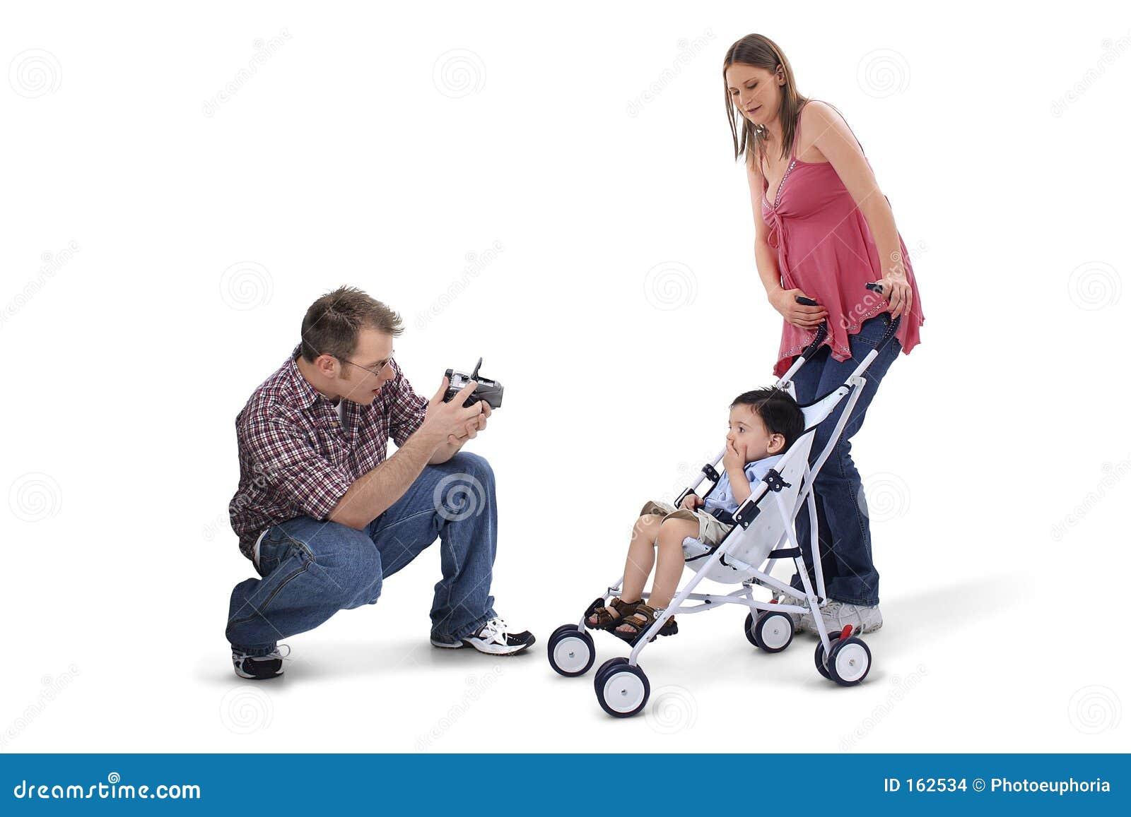 可爱爸爸系列时候照片采取