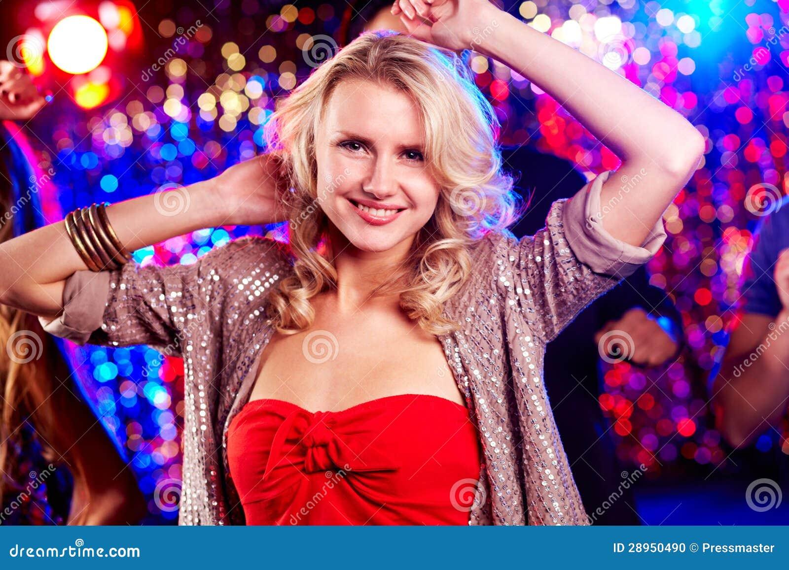可爱的舞蹈演员