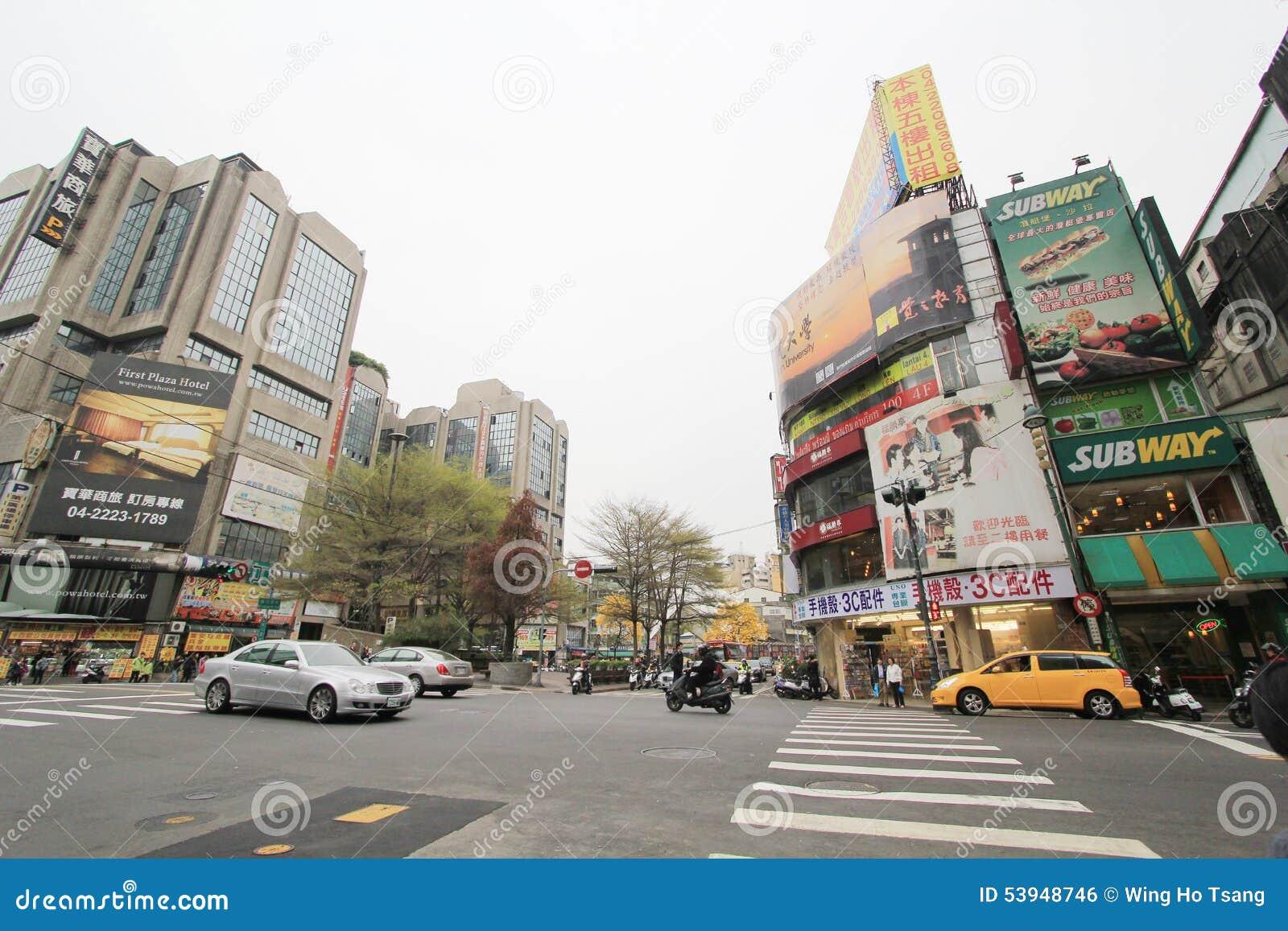 台中街道视图