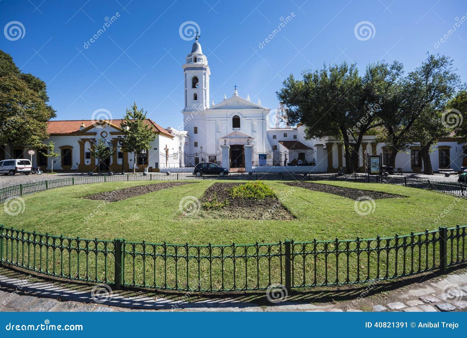 台尔Pilar教会在布宜诺斯艾利斯,阿根廷