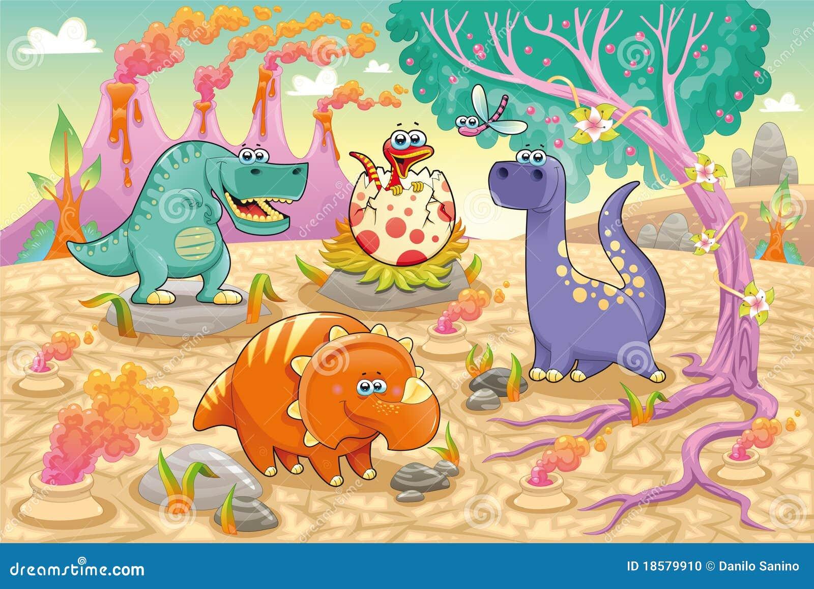 史前恐龙滑稽的组的大局