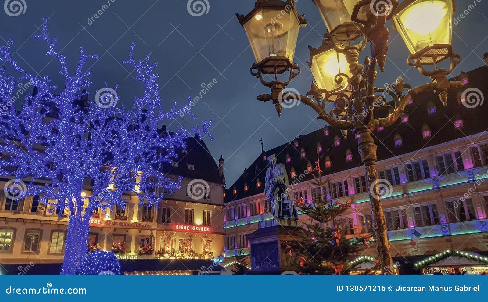 史特拉斯堡法国的市中心