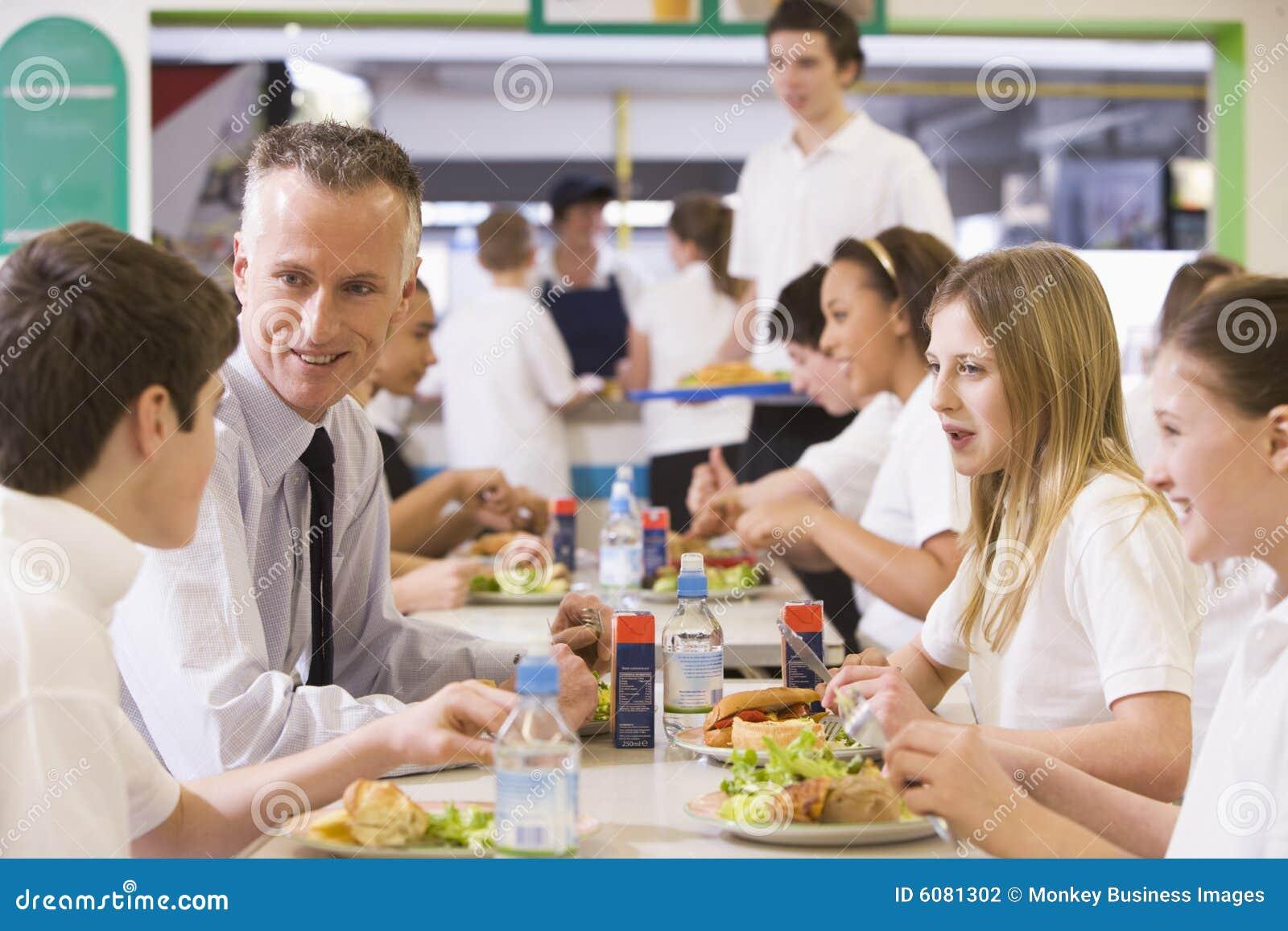 吃他的午餐实习教师