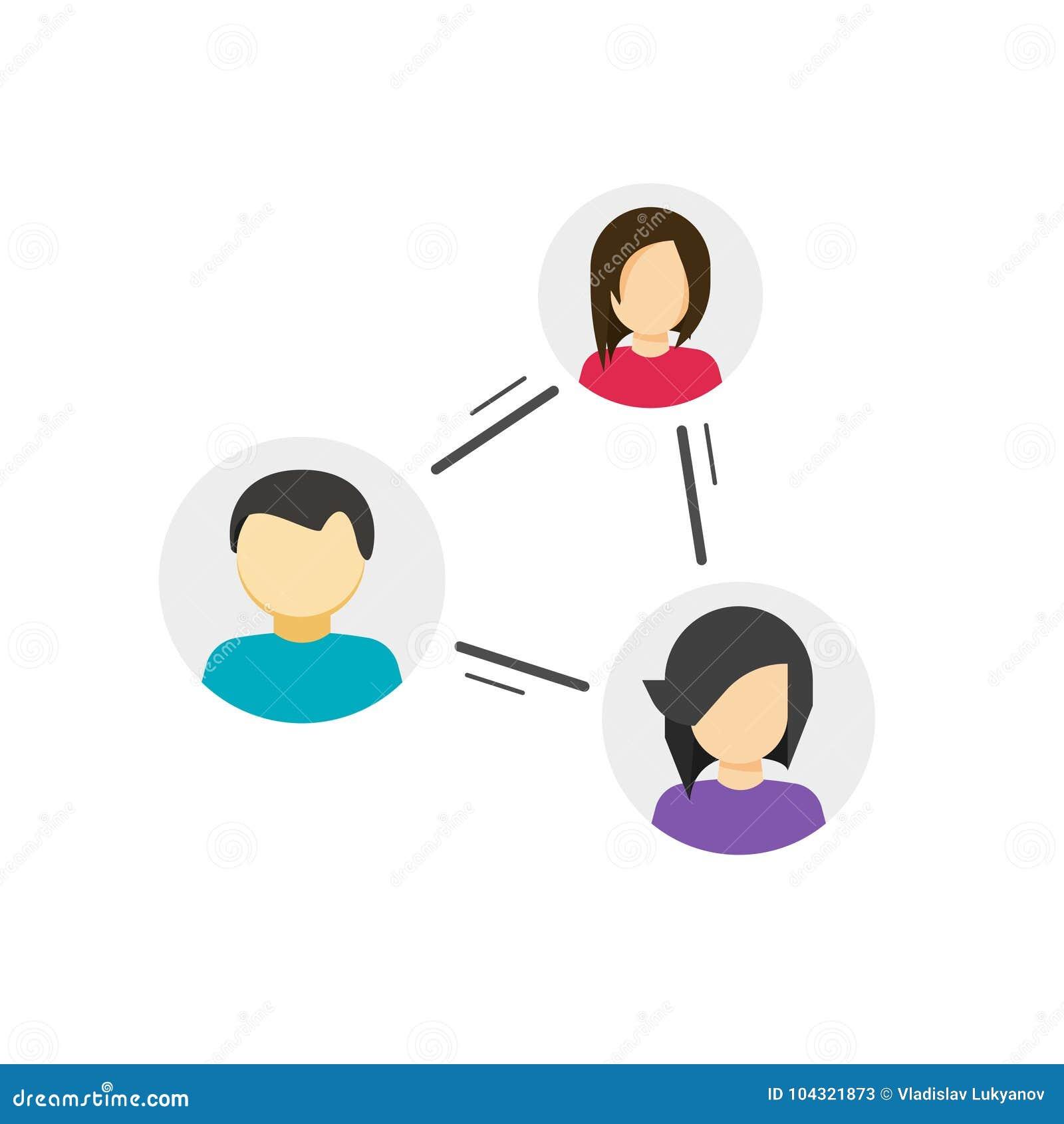 合作或分享社区传染媒介象,同辈的概念,社会人民之间的链接,人联系之间的链接