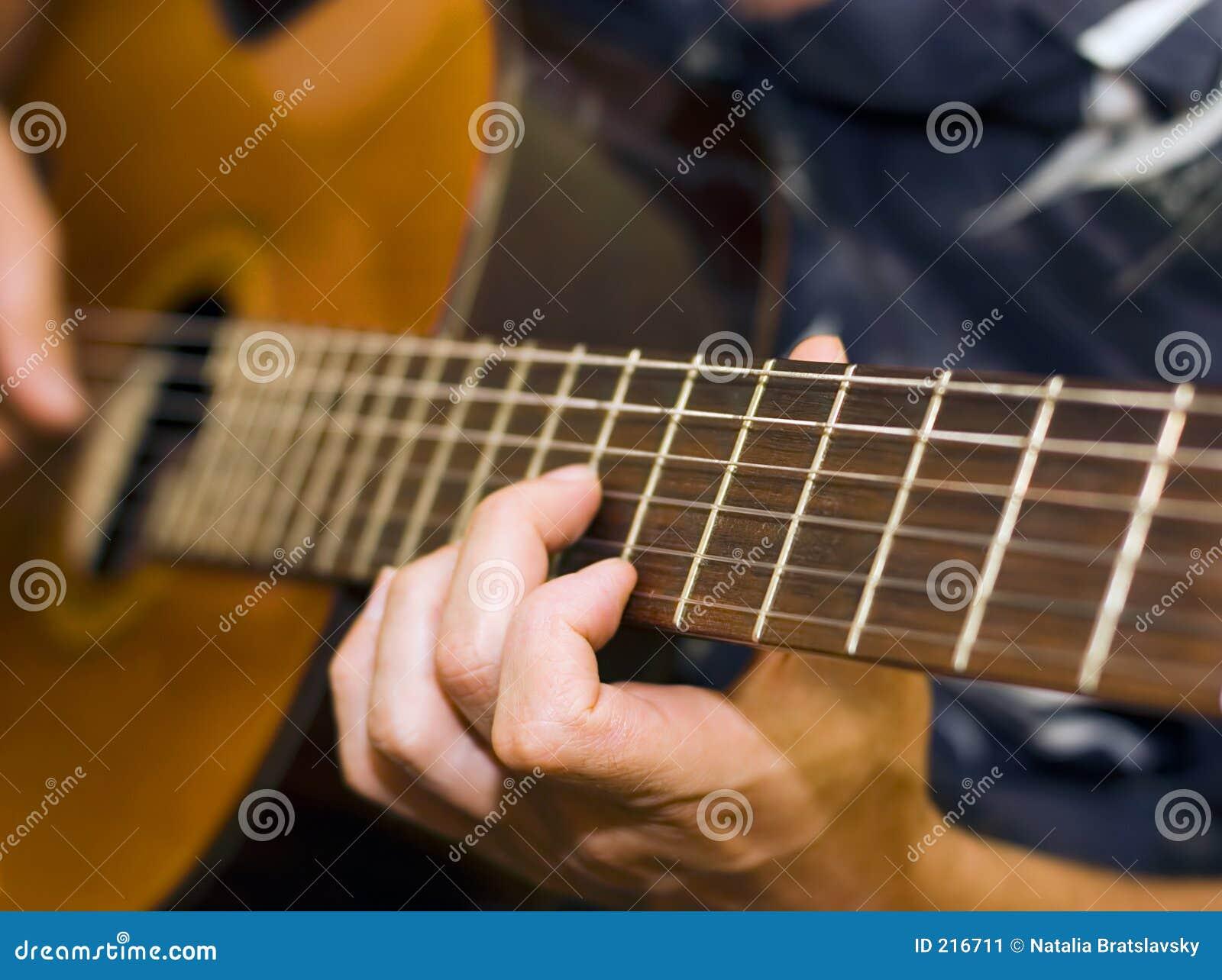 吉他演奏员