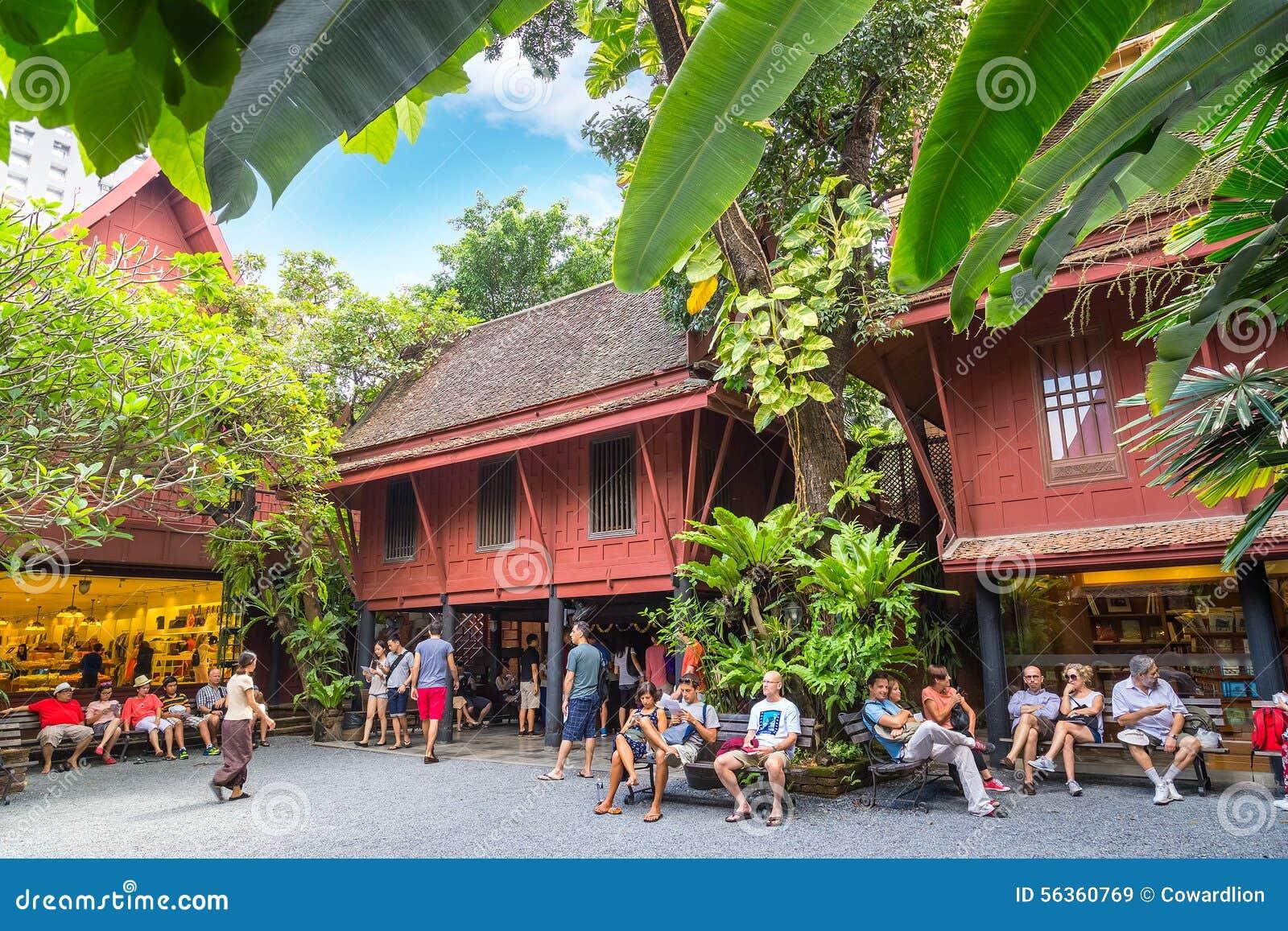 吉姆汤普森博物馆在曼谷,泰国