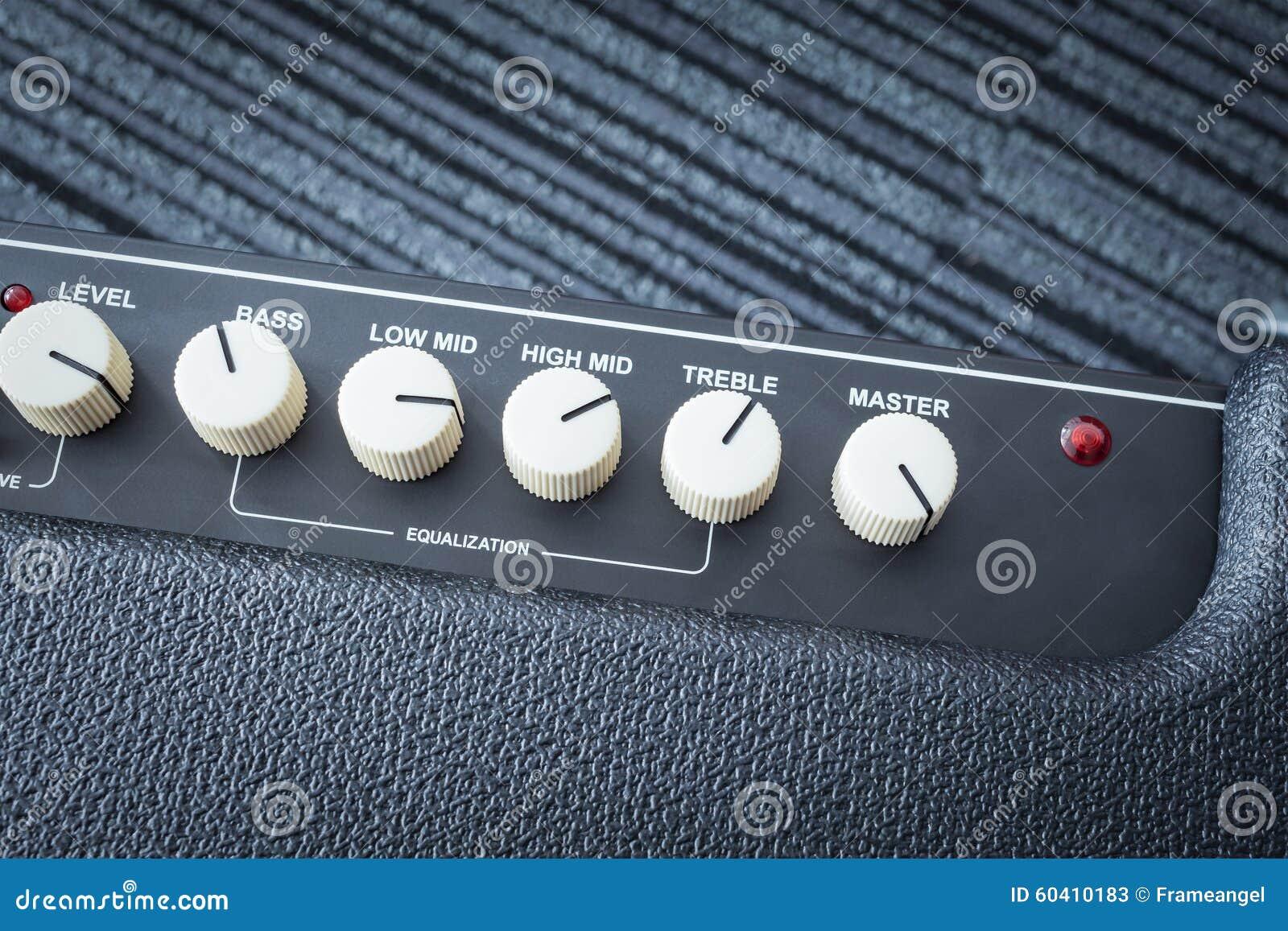 吉他功率放大器按钮