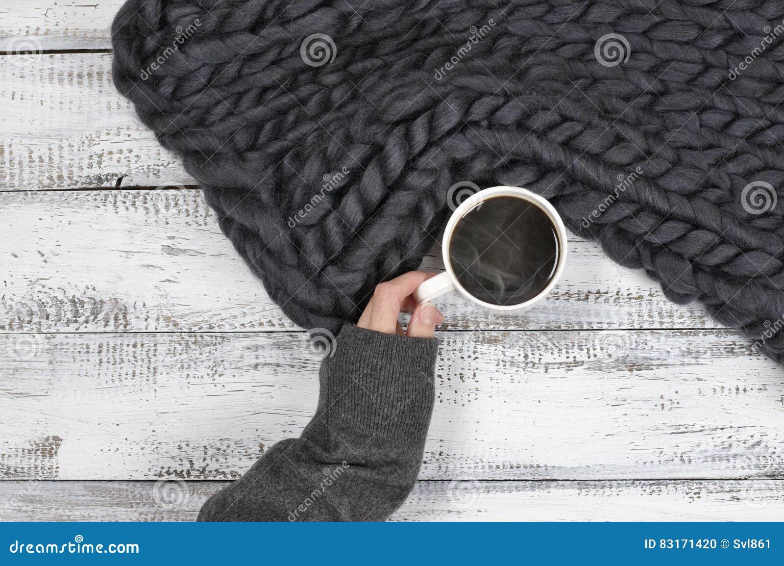 吊用热的咖啡
