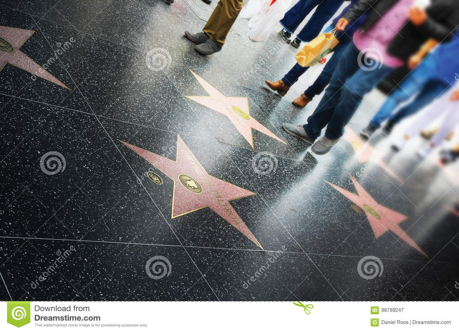 名望步行,好莱坞