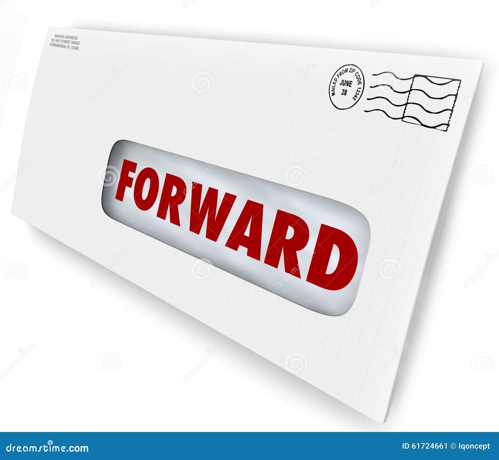 向前邮件假期中止交付送新的地址