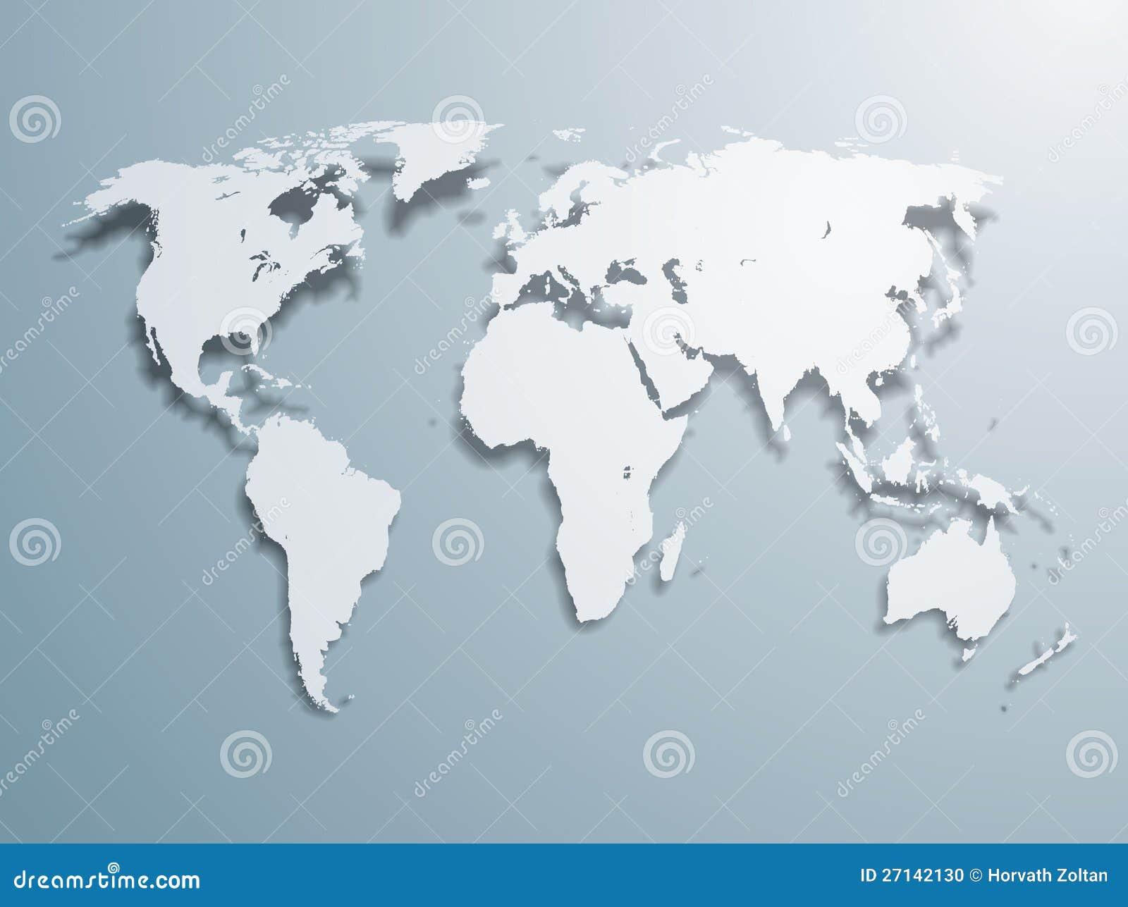 向量世界地图