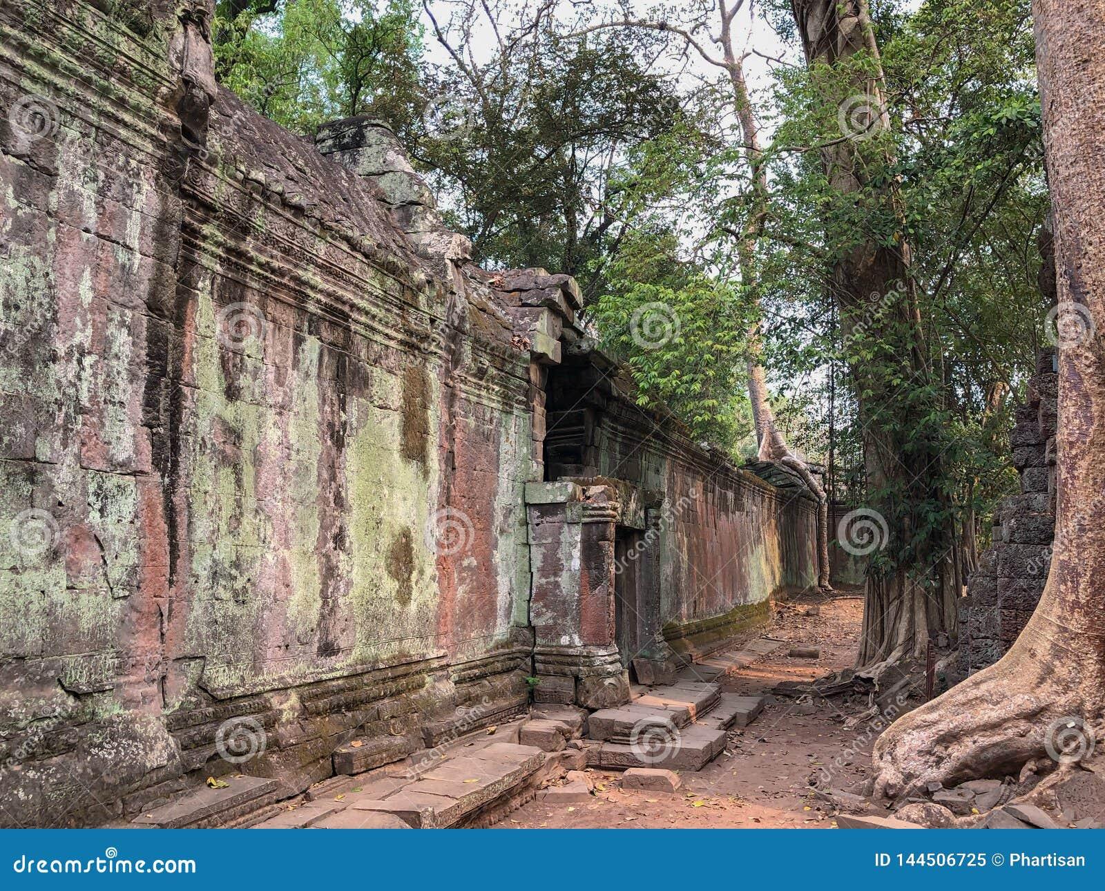 吴哥柬埔寨寺庙