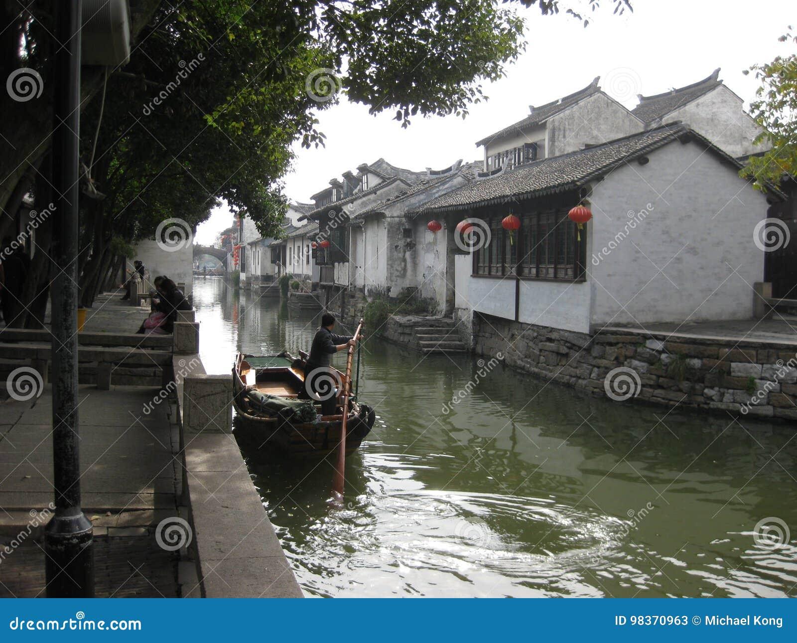 周庄,上海,中国