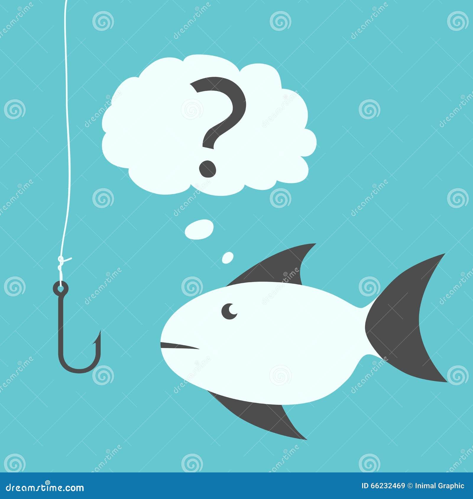 周道的鱼和鱼钩图片