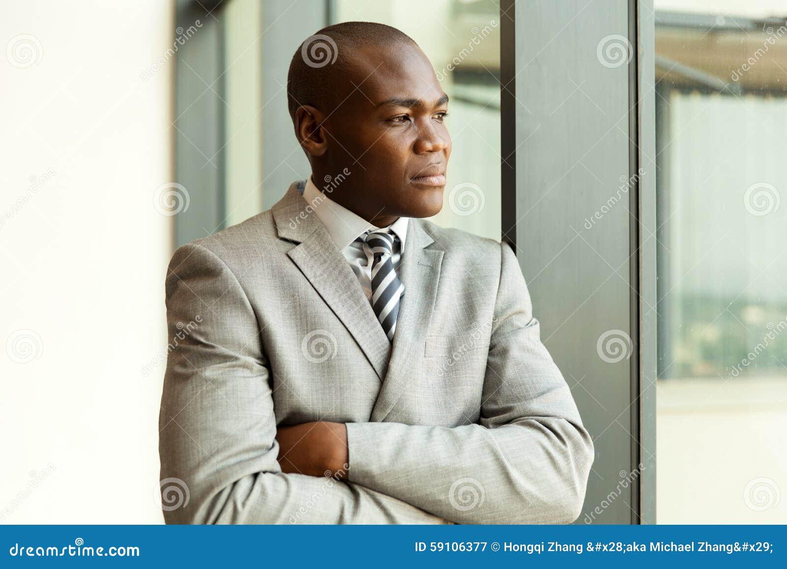 周道非洲的生意人