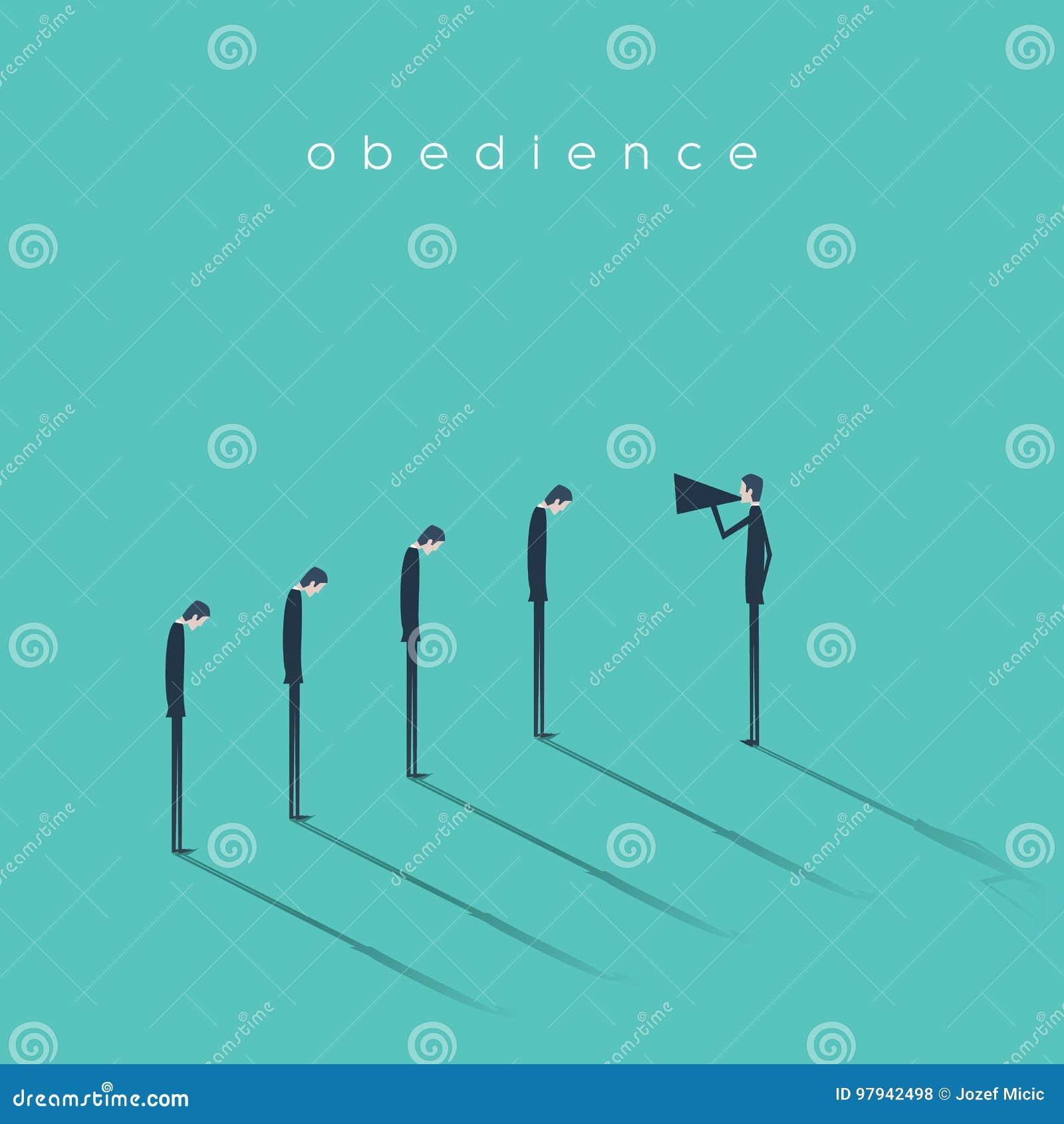 呼喊在有扩音机的雇员的业务经理或上司 企业守纪的传染媒介概念和严密