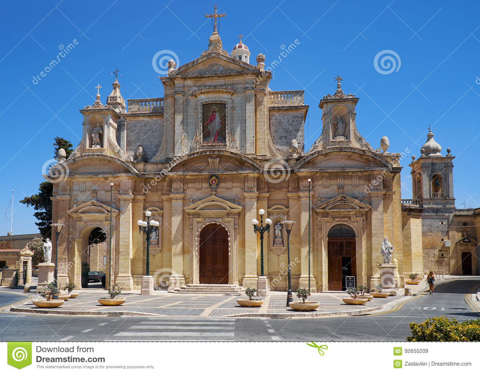 洞穴和圣保罗牧师会主持的教堂在拉巴特,马耳他