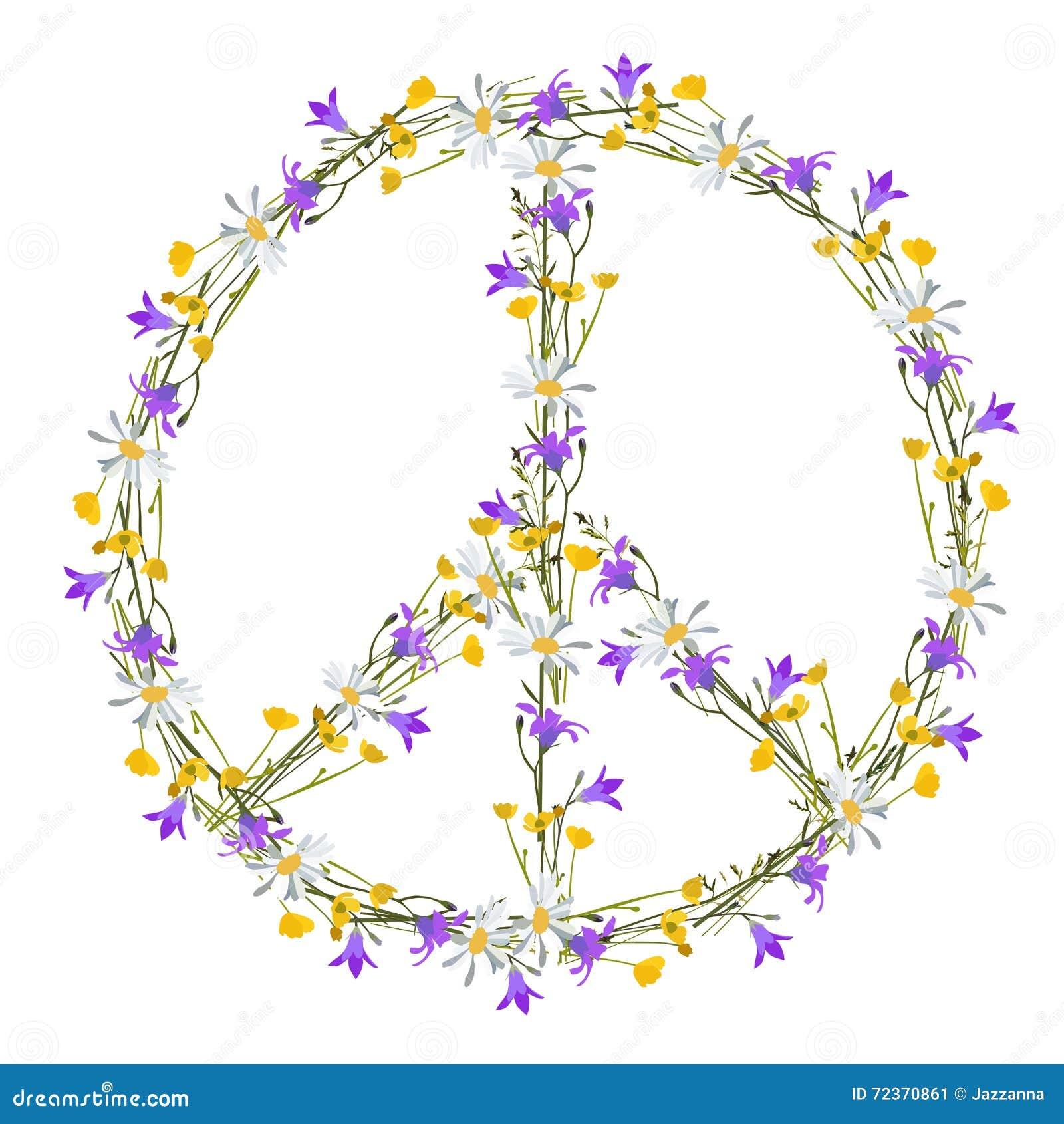和平与爱情和平标志