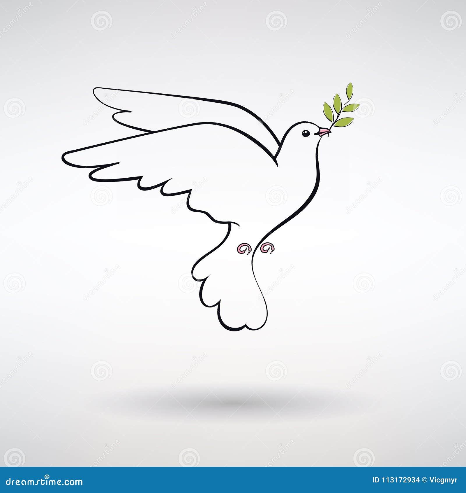 和平标志鸠
