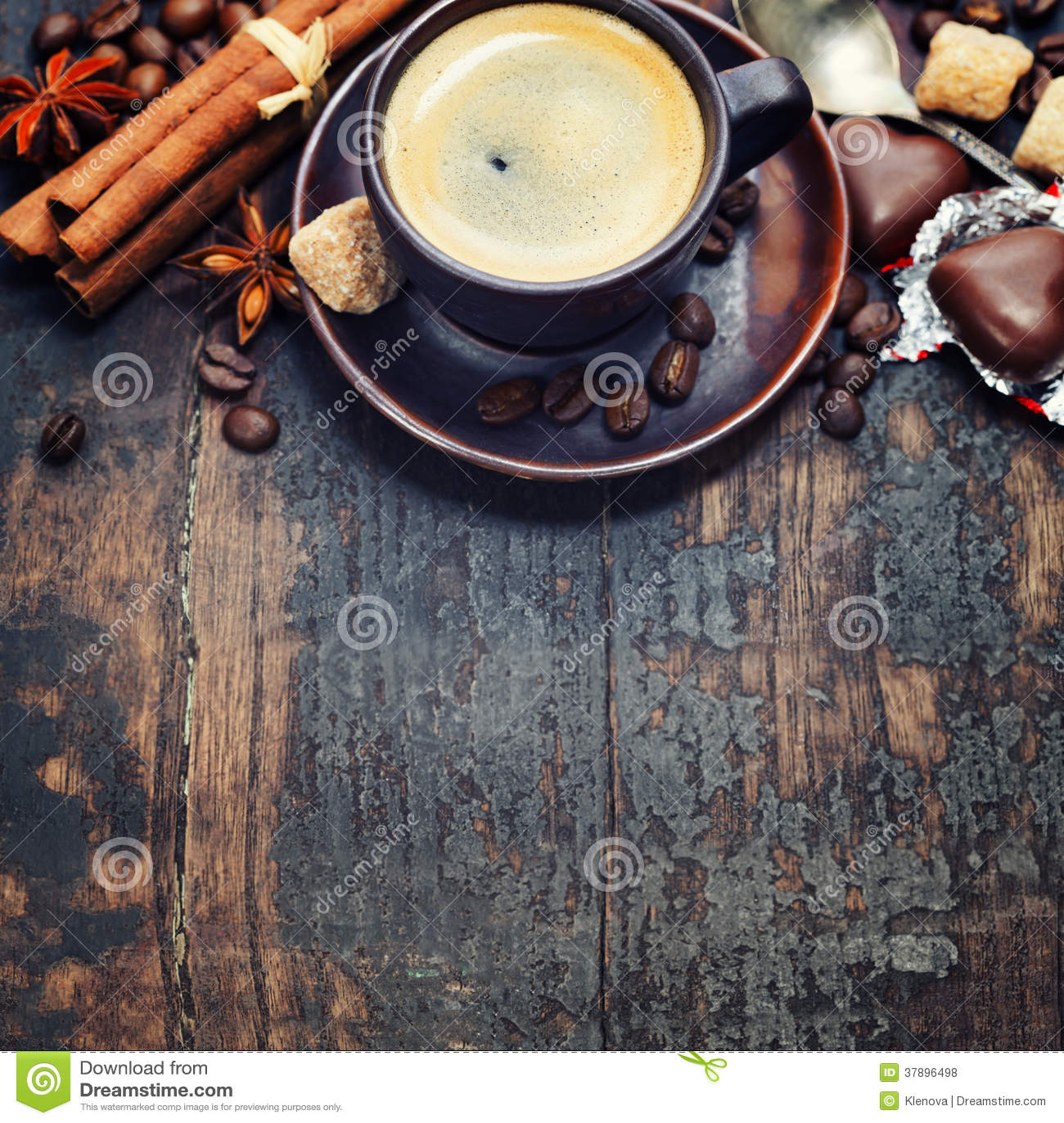 咖啡和香料