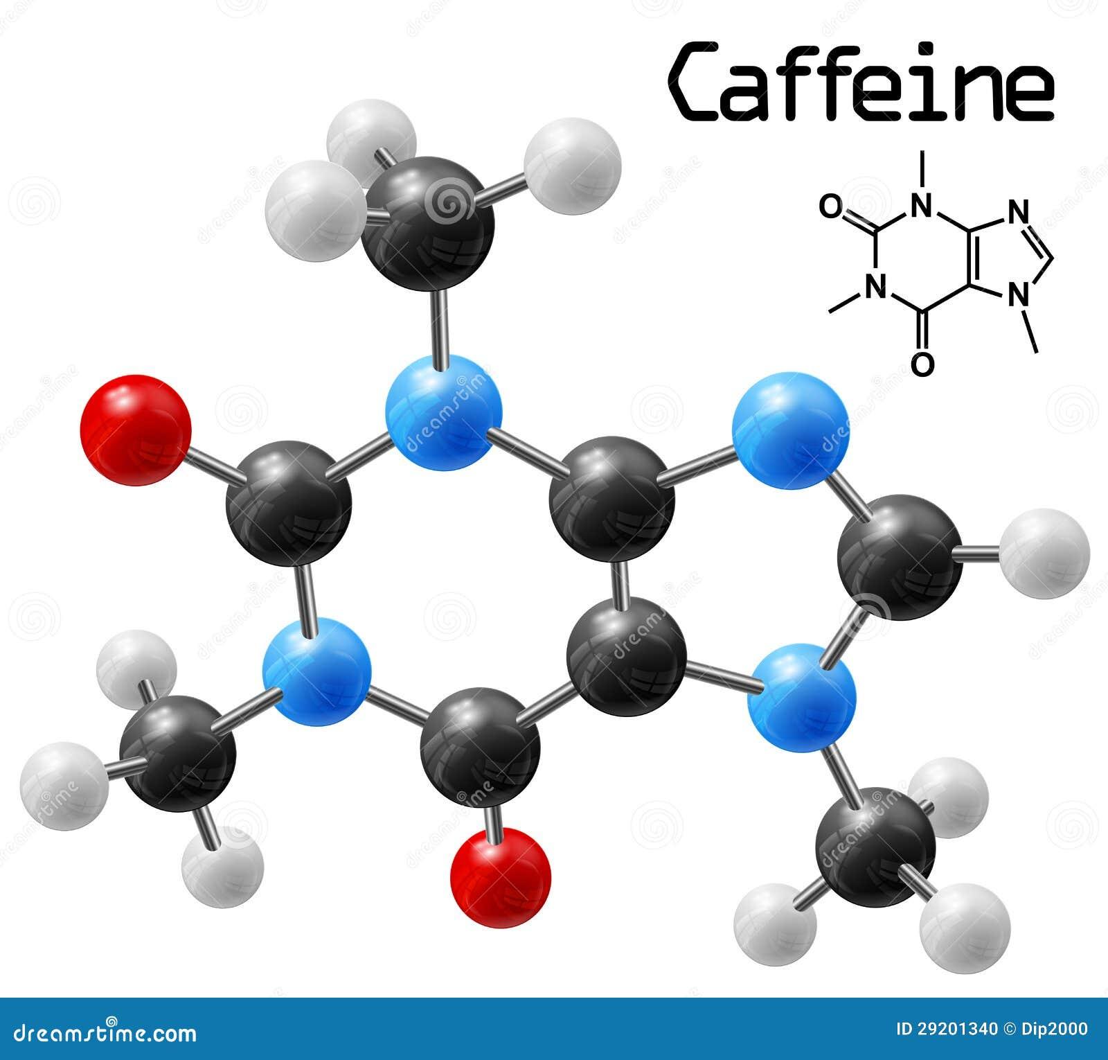 咖啡因分子