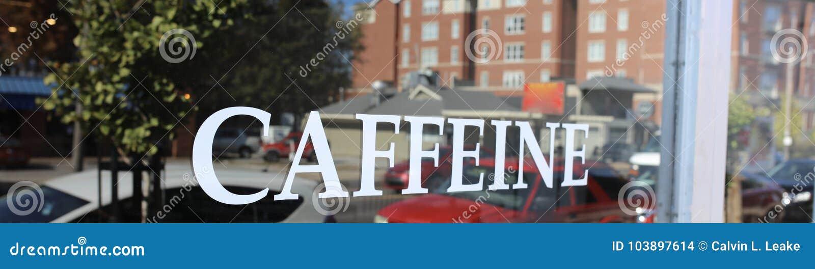 咖啡因,新鲜酿造,热