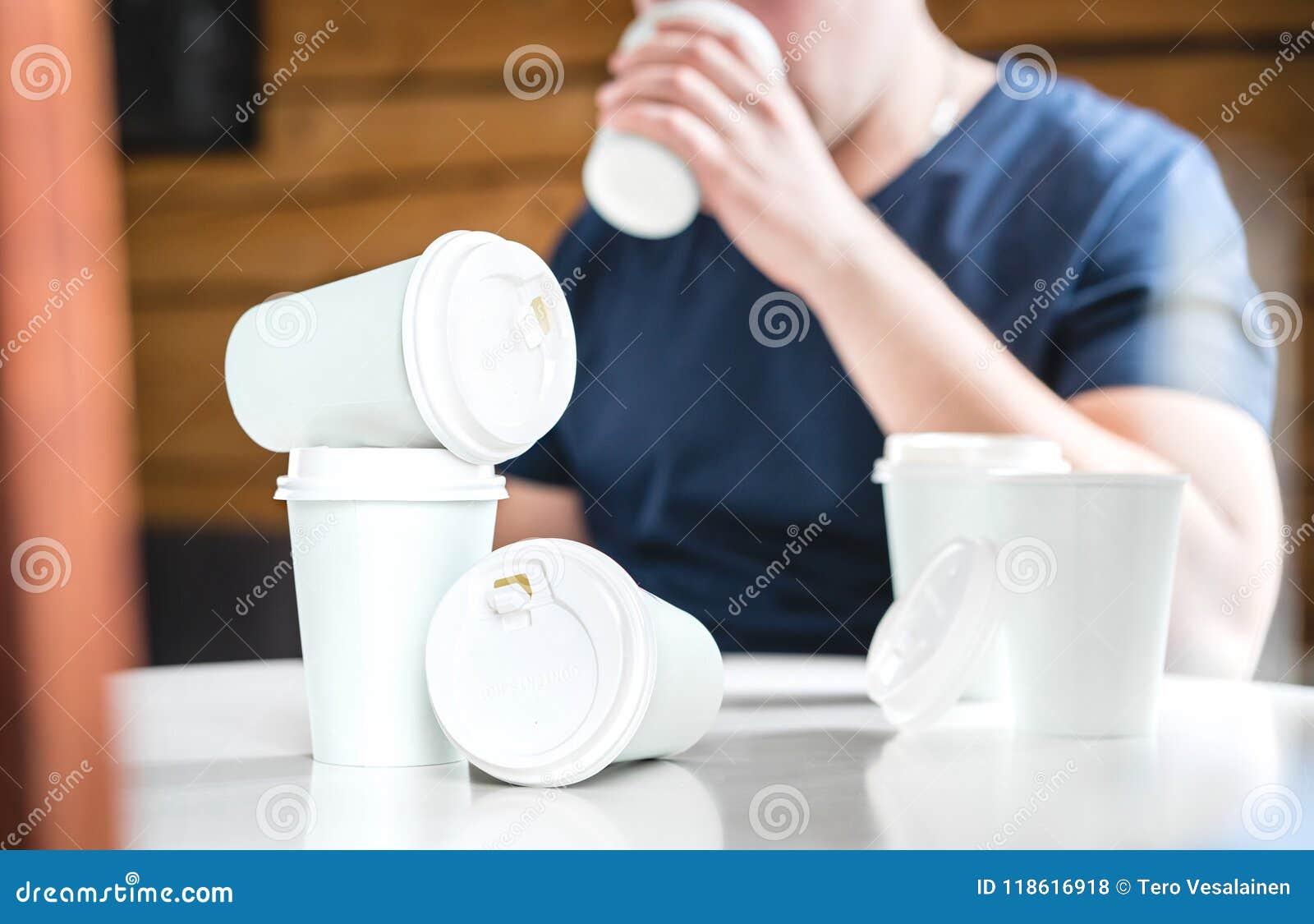 咖啡或咖啡因瘾概念
