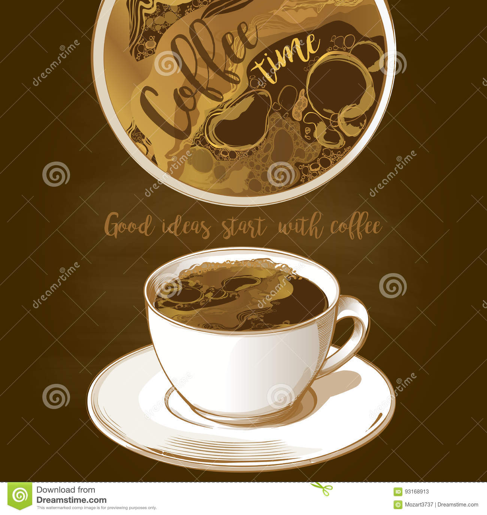 咖啡杯latte