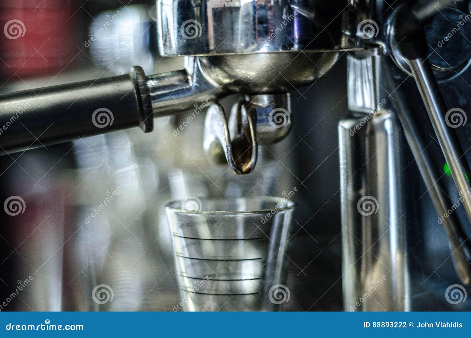 咖啡浓咖啡风险长的设备照片准备进程