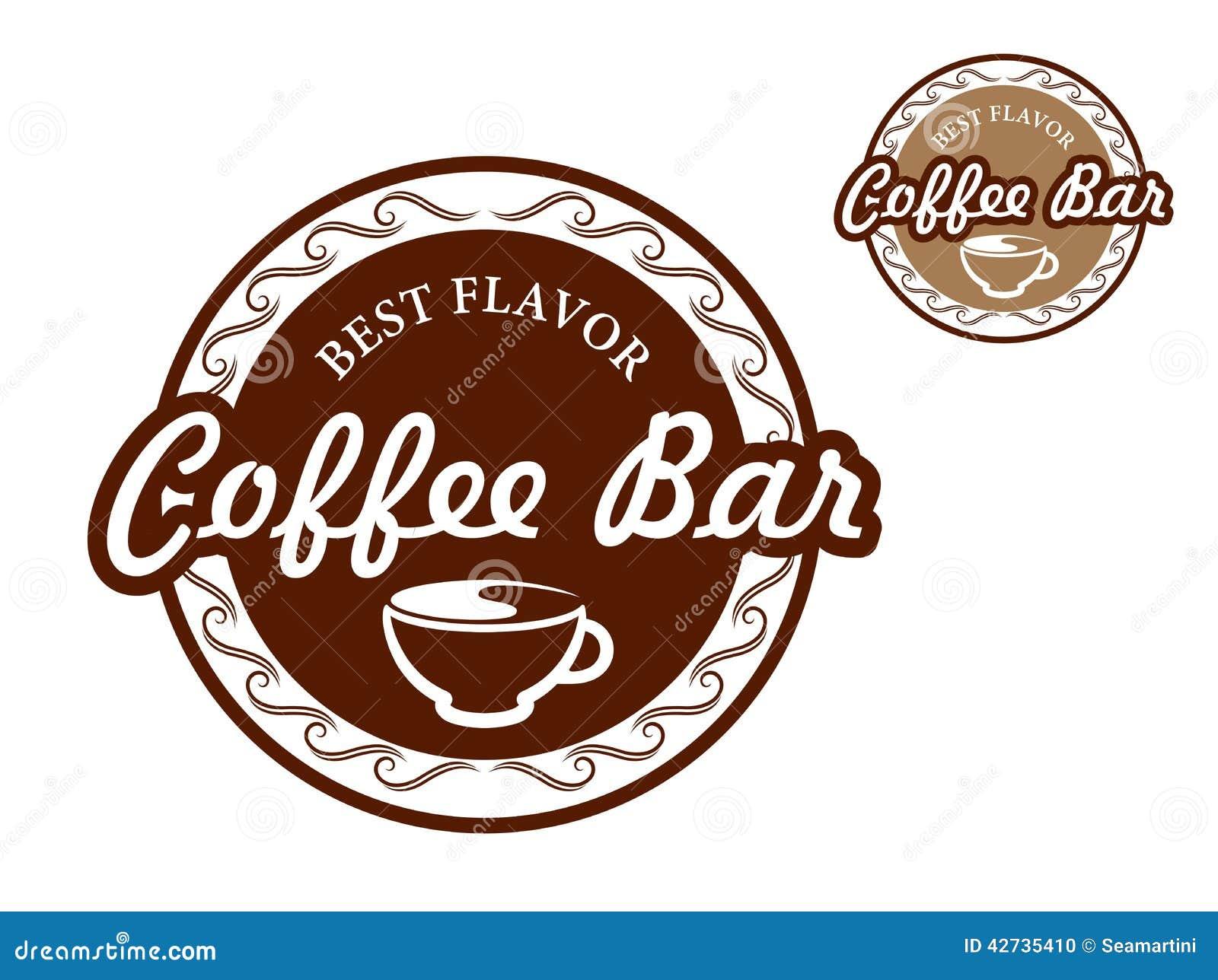 咖啡馆标志图片