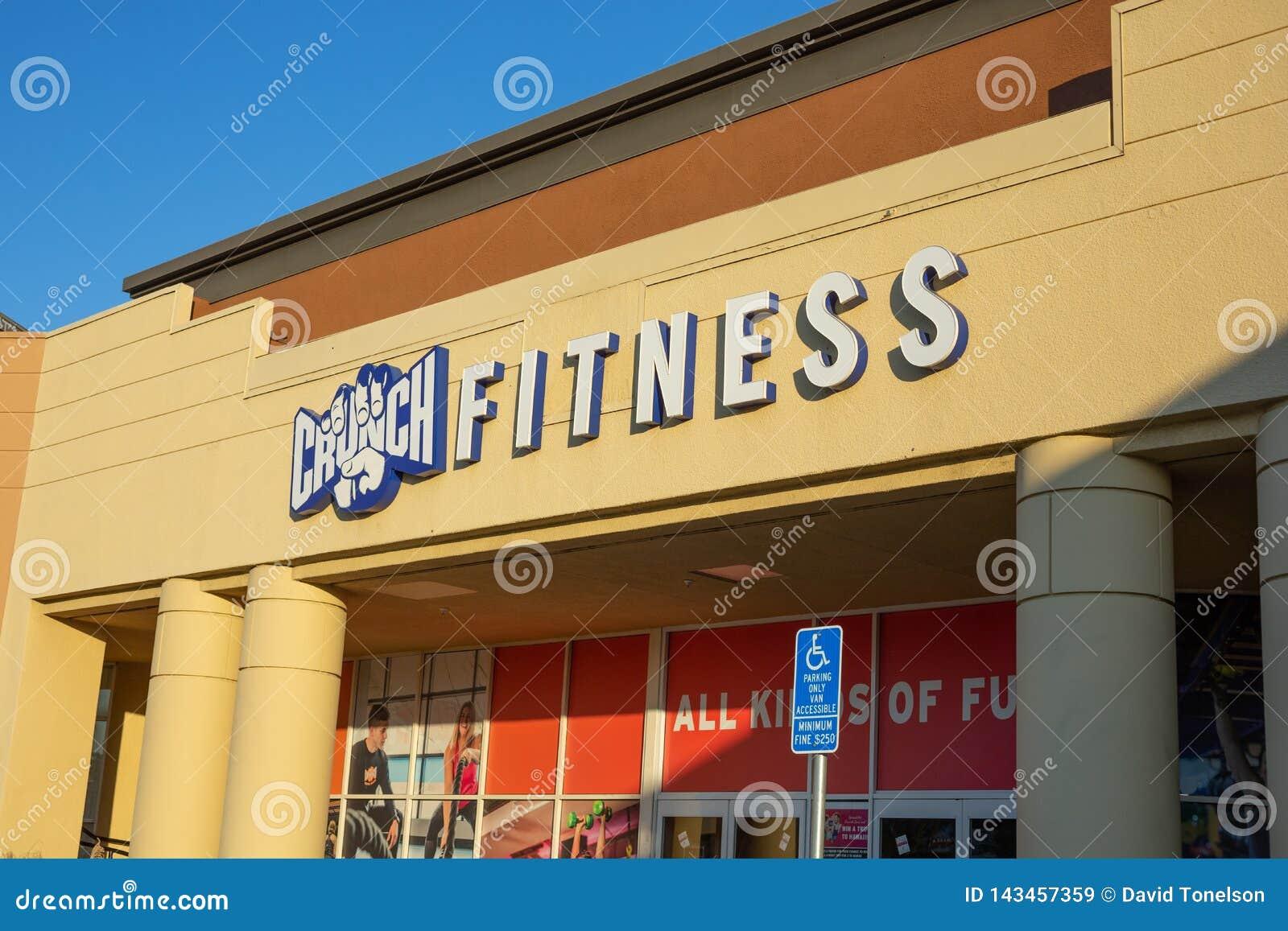 咬嚼健身的商店前面标志