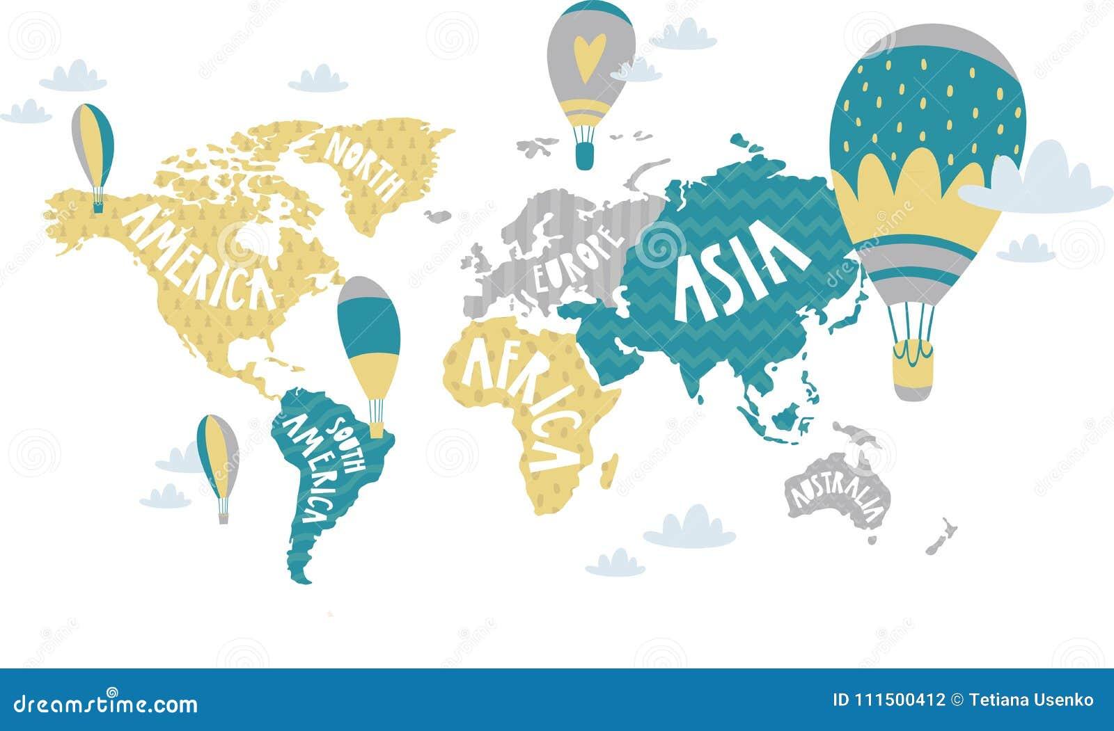 哄骗图表例证 使用为在墙壁、枕头、装饰孩子内部、婴孩穿戴和衬衣,贺卡, v上的印刷品