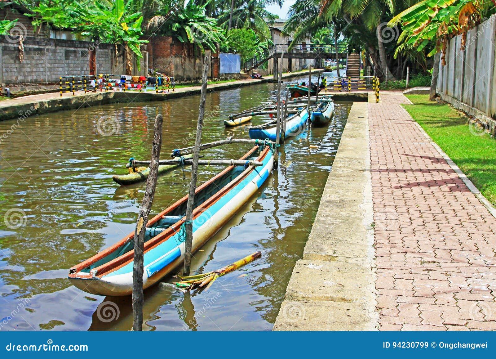哈密尔顿运河, Negombo斯里兰卡