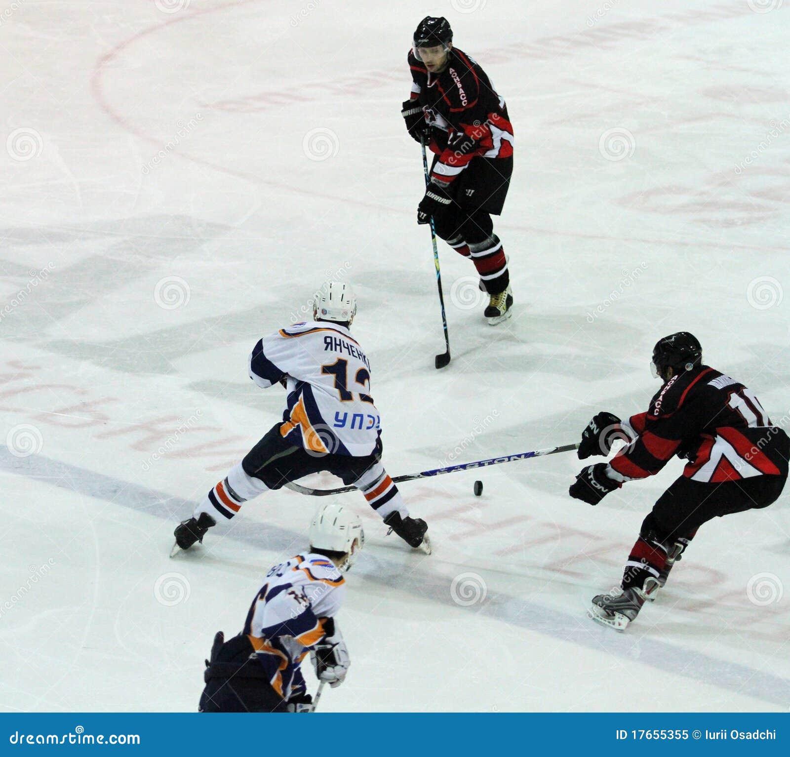 哈尔科夫Donbass冰球符合