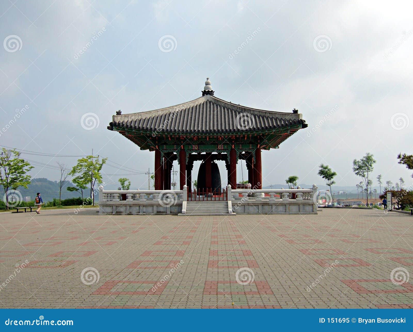 响铃南韩国的和平