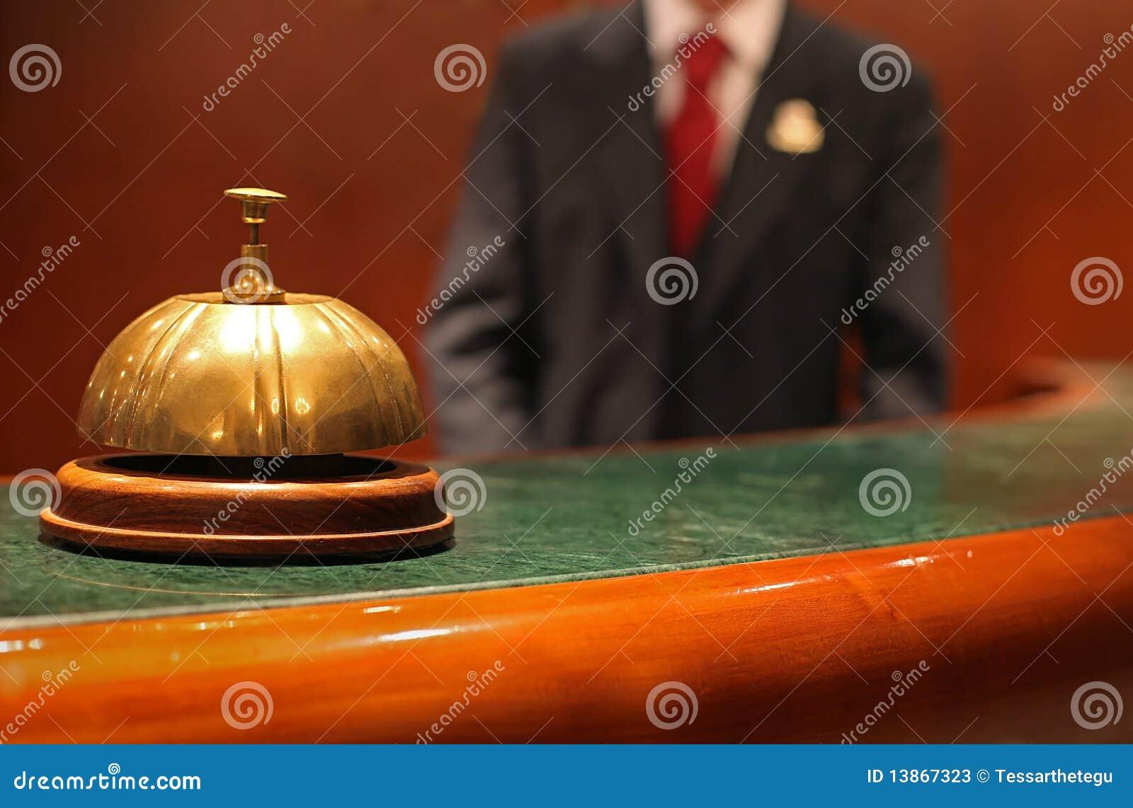 响铃看门人旅馆等候人员