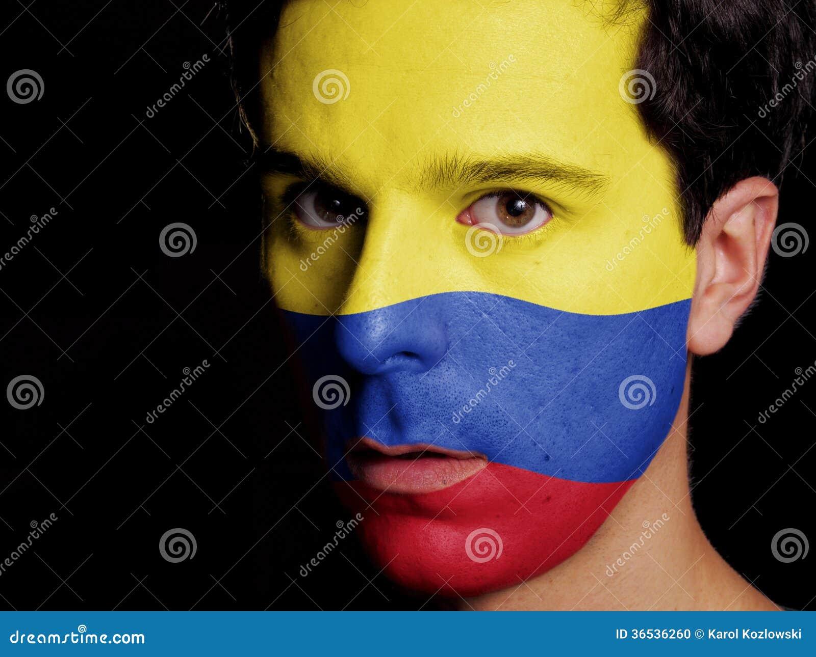 哥伦比亚的旗子