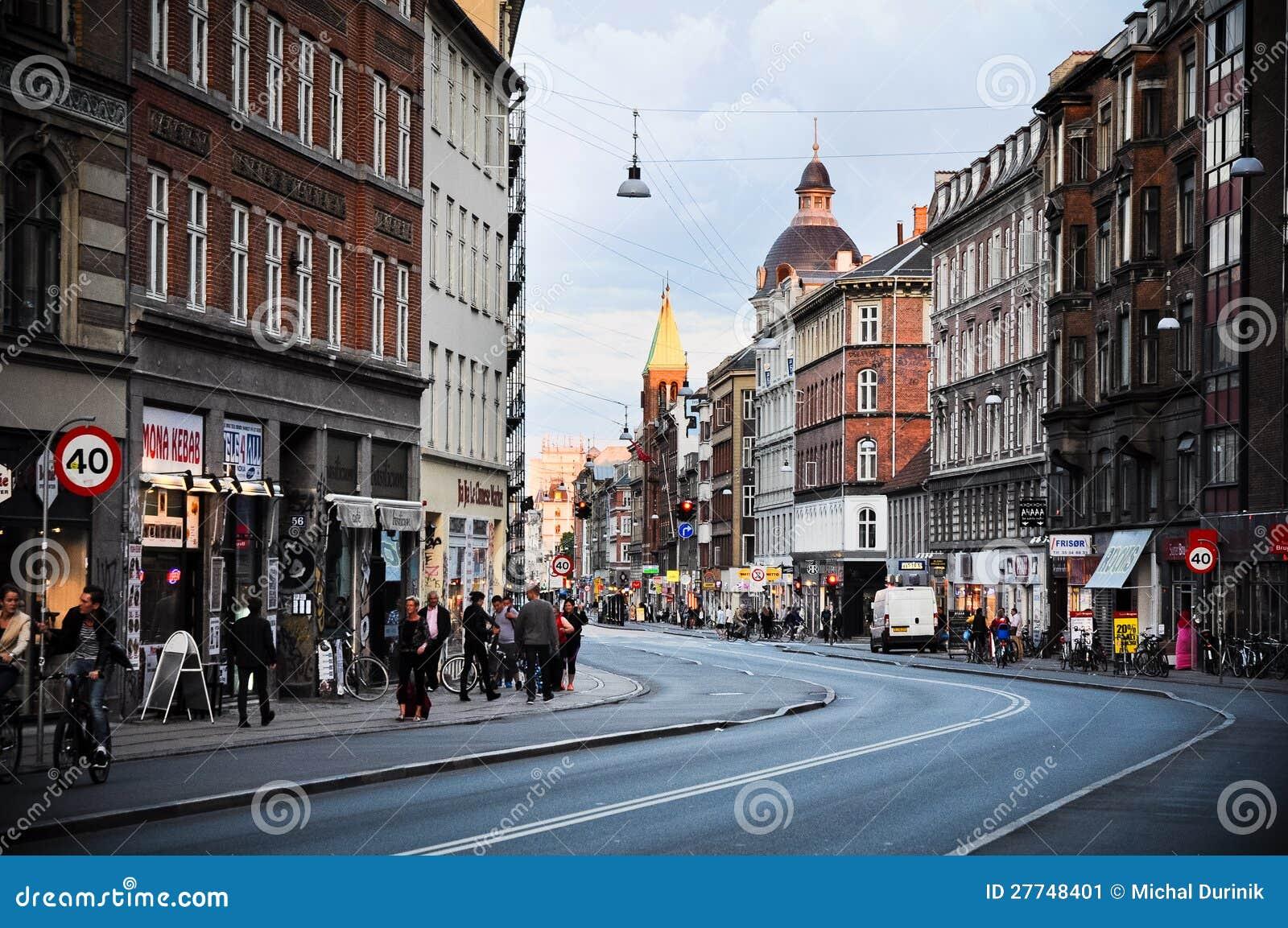 哥本哈根,丹麦街道