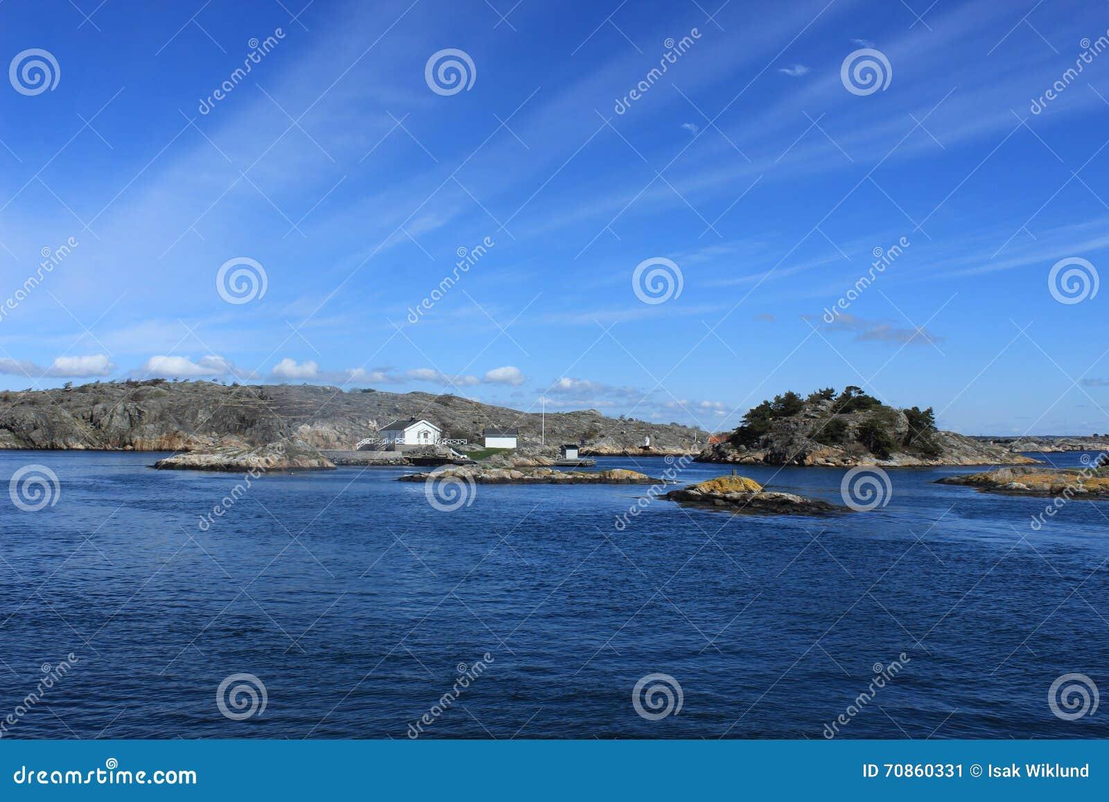 哥特人,瑞典,海,海洋群岛背景,大西洋,斯堪的那维亚