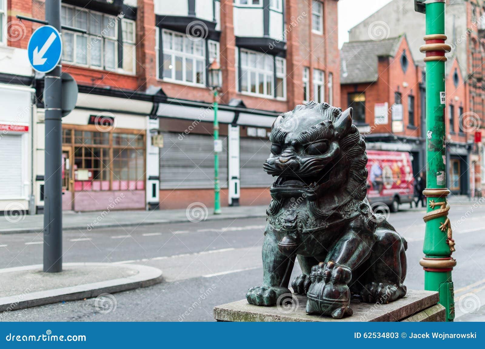 唐人街-中国狮子C
