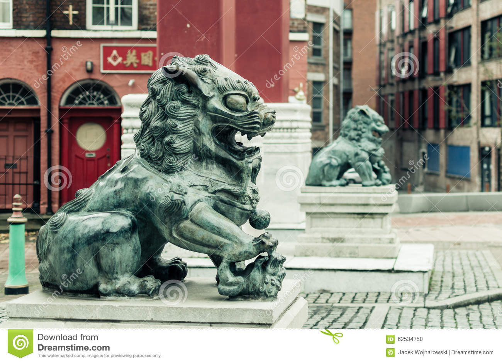 唐人街-中国狮子D