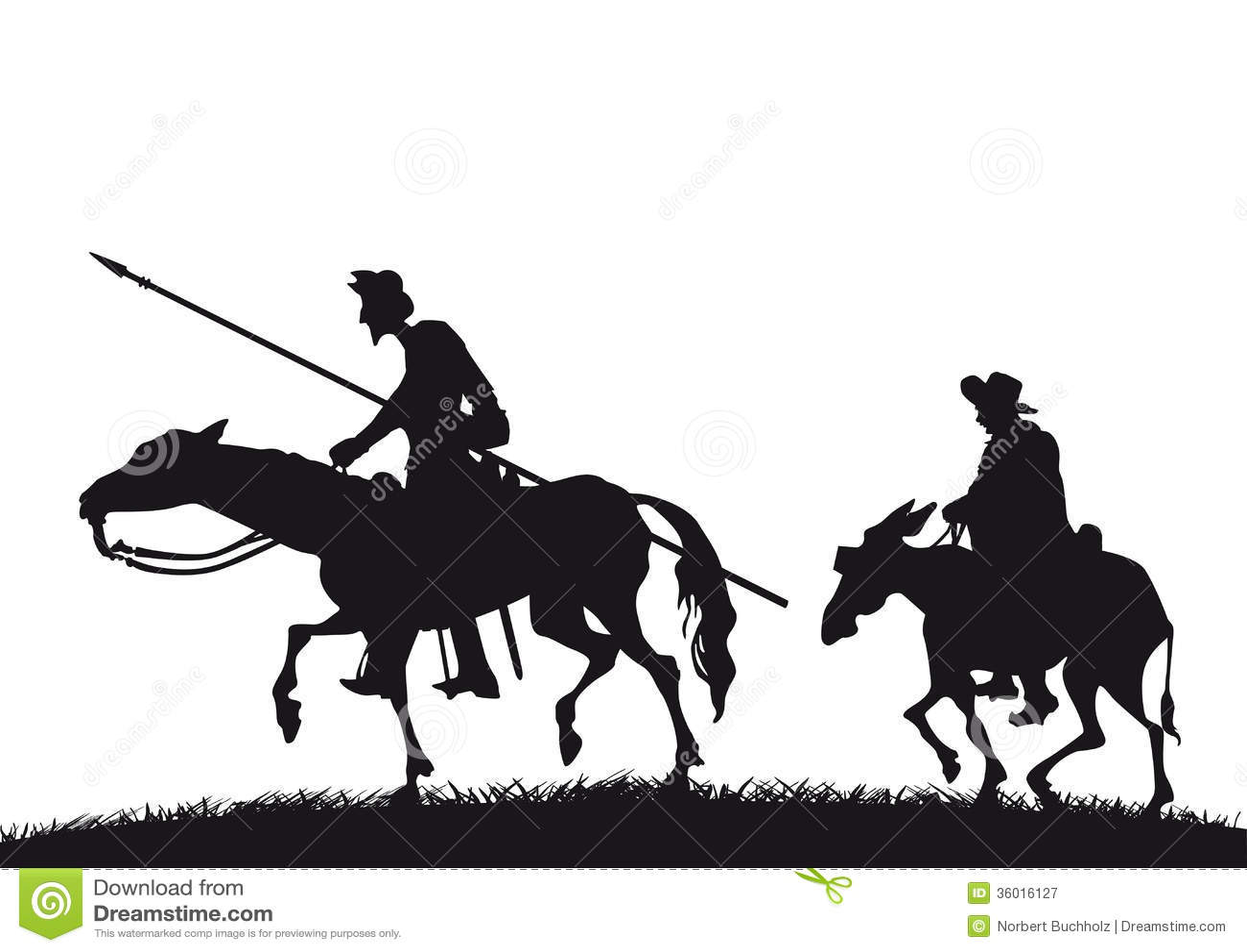 唐吉诃德和Sancho Panza