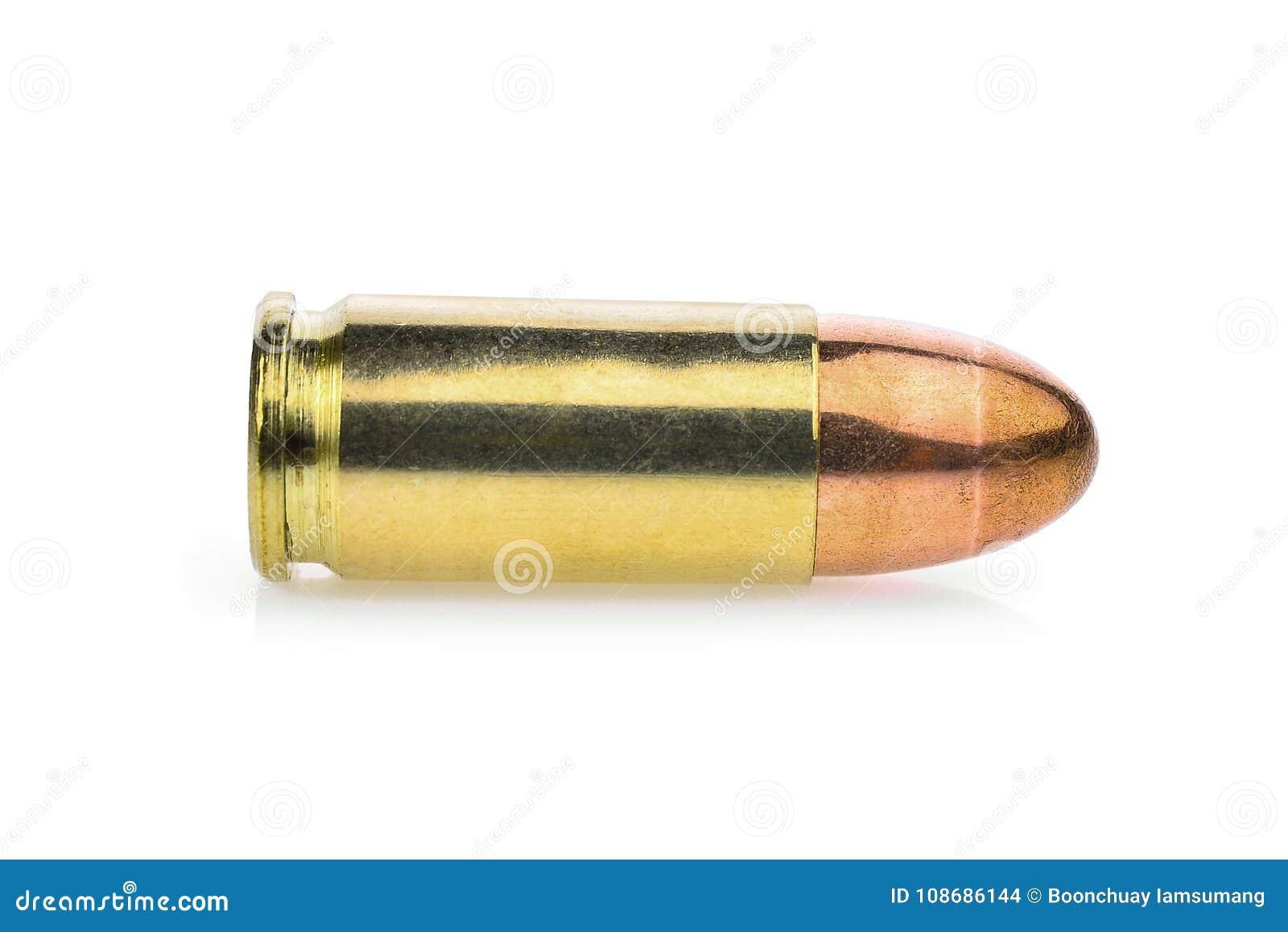 唯一弹药筒9 mm 手枪弹药,充分的金属