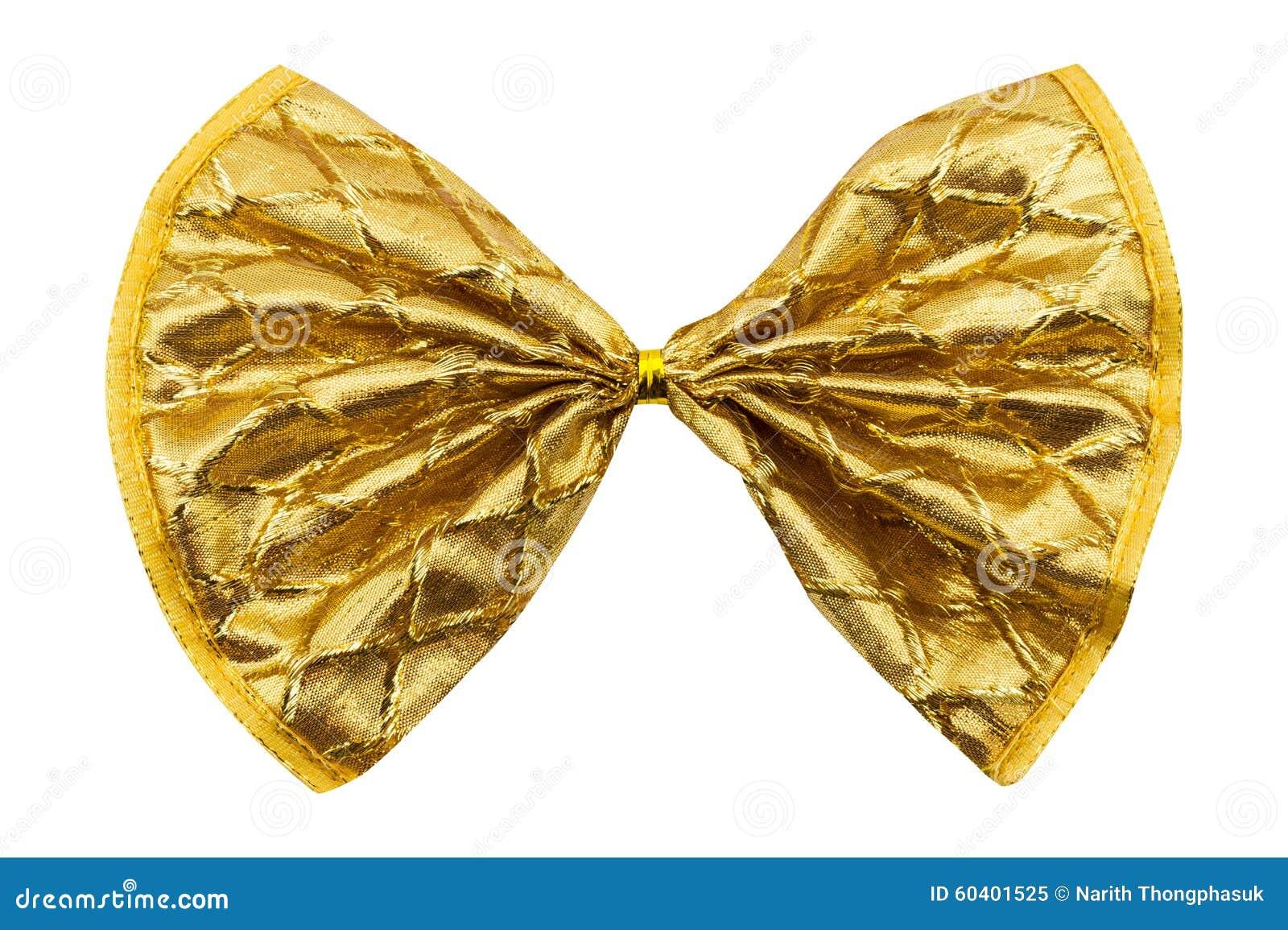 唯一礼物弓,金黄与一条丝带